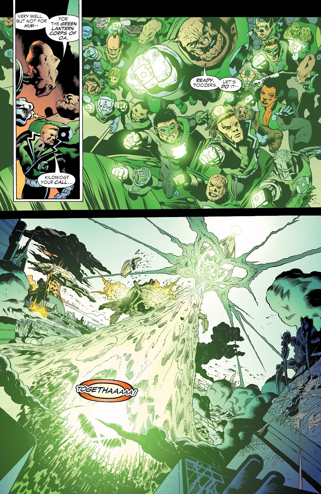 Read online Green Lantern by Geoff Johns comic -  Issue # TPB 1 (Part 3) - 83