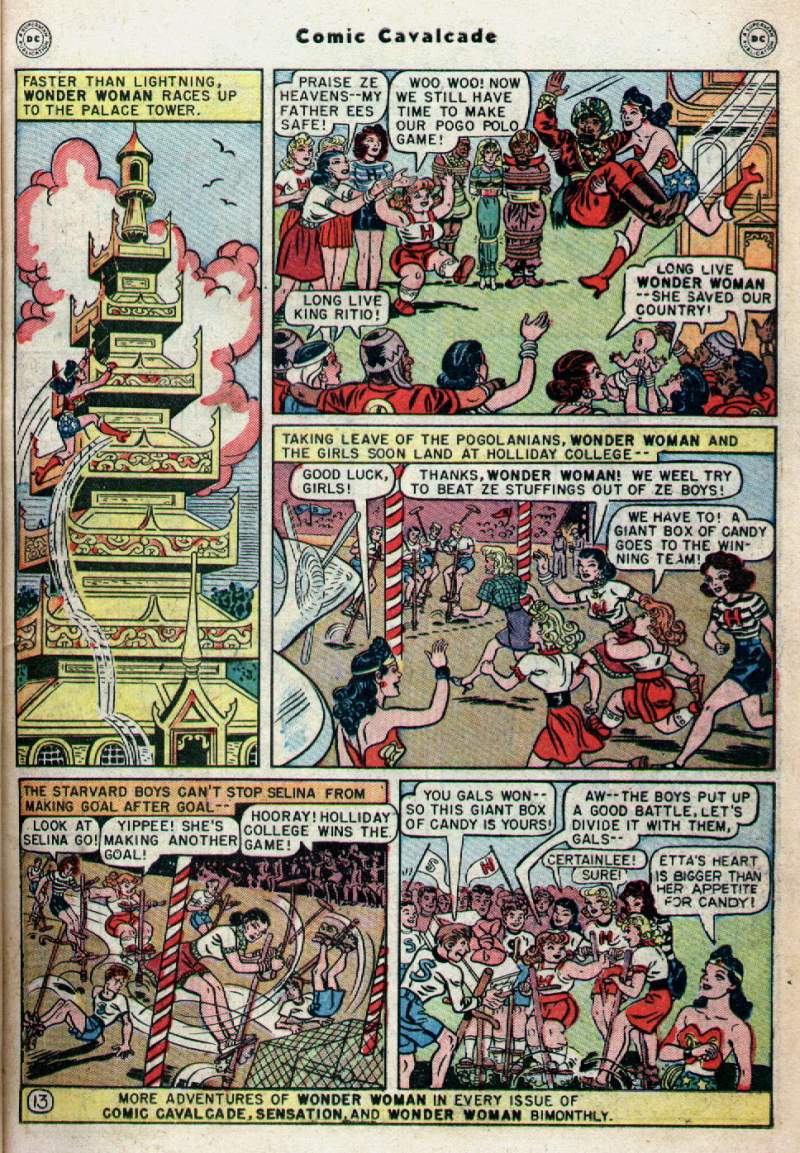 Comic Cavalcade issue 28 - Page 15