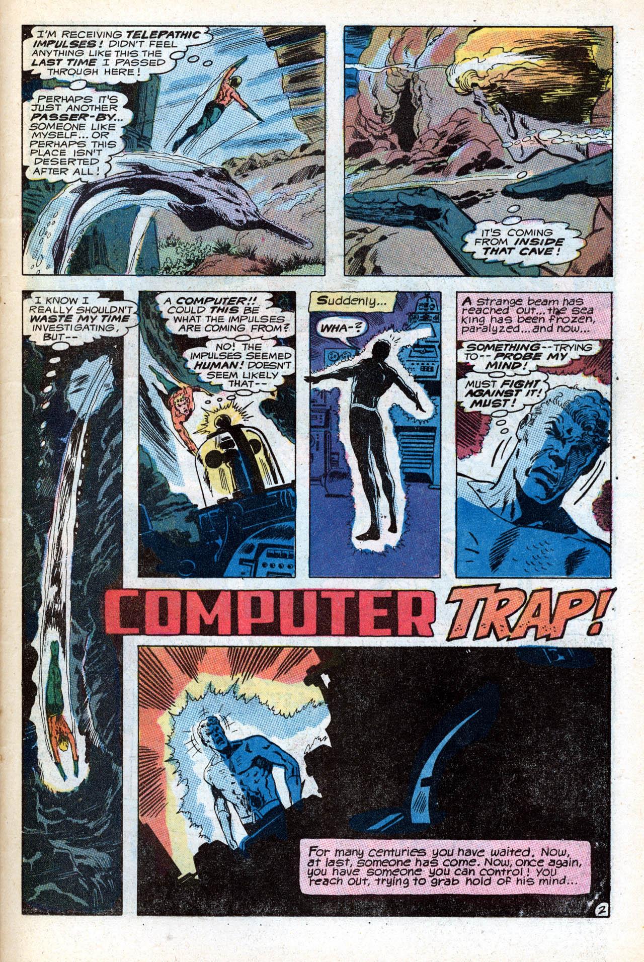 Read online Aquaman (1962) comic -  Issue #55 - 23