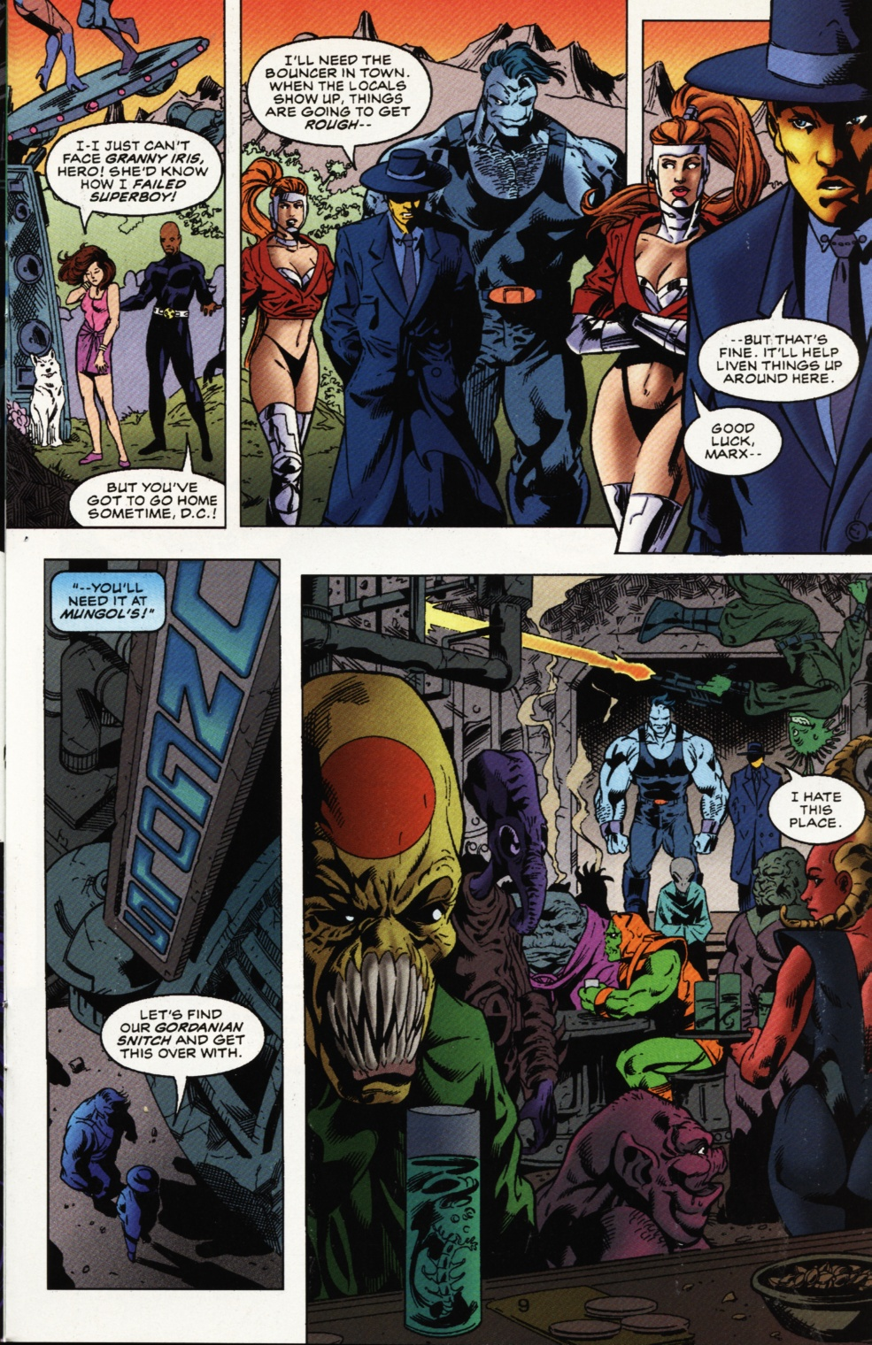 Read online Superboy & The Ravers comic -  Issue #11 - 10