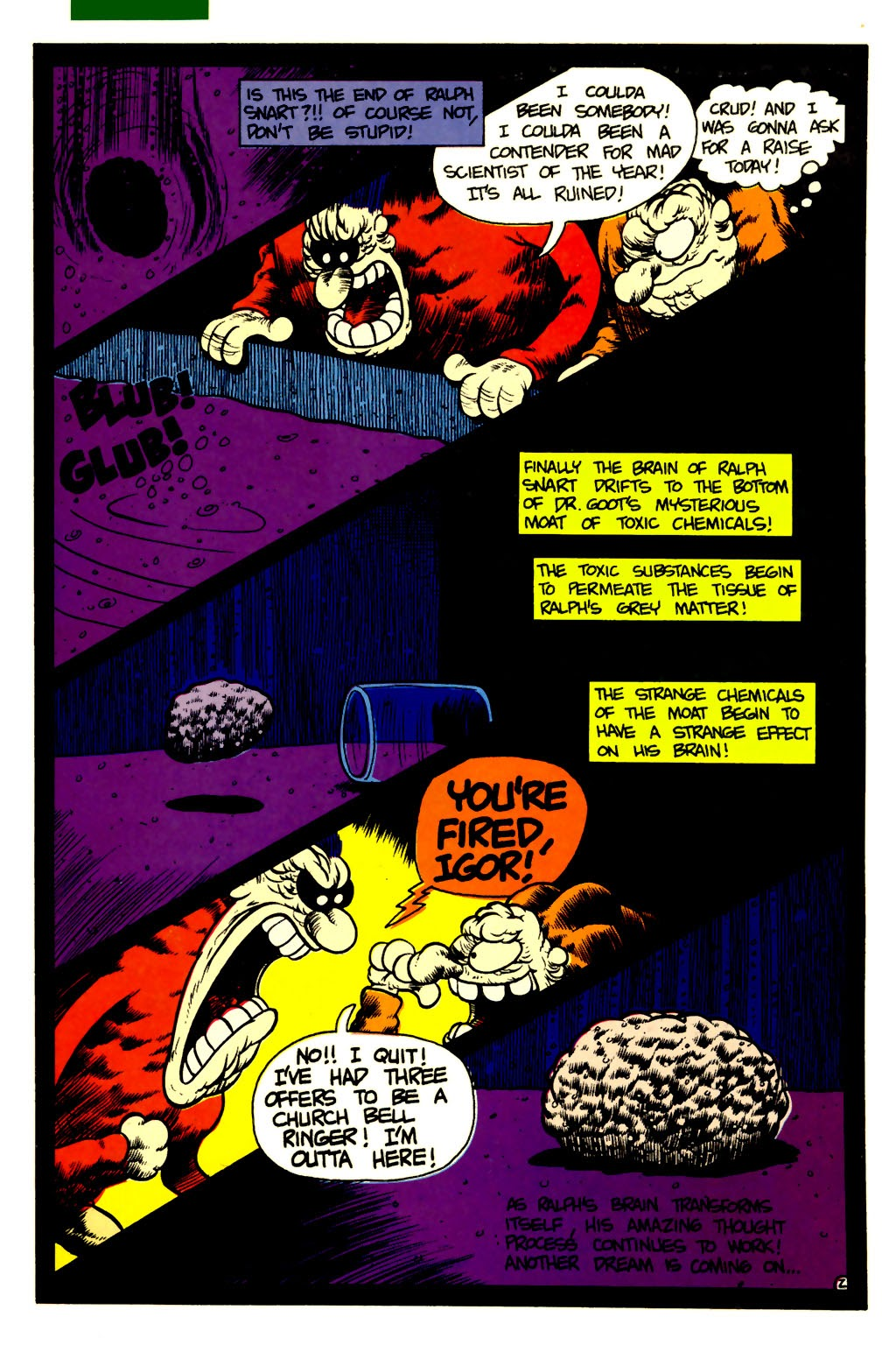 Ralph Snart Adventures (1988) issue 6 - Page 3