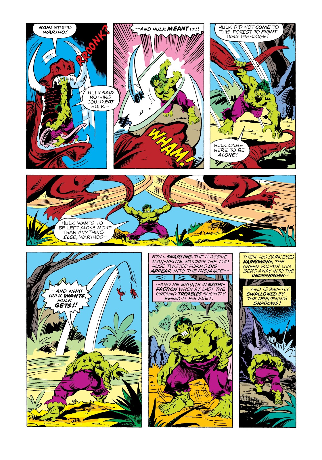 Read online Marvel Masterworks: The Incredible Hulk comic -  Issue # TPB 12 (Part 2) - 41