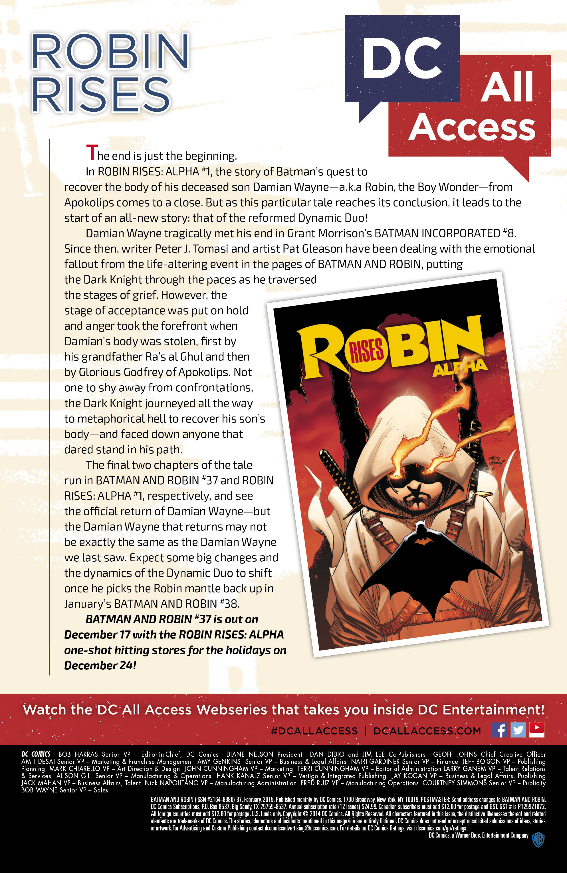 Read online Batman and Robin (2011) comic -  Issue #37 - 24