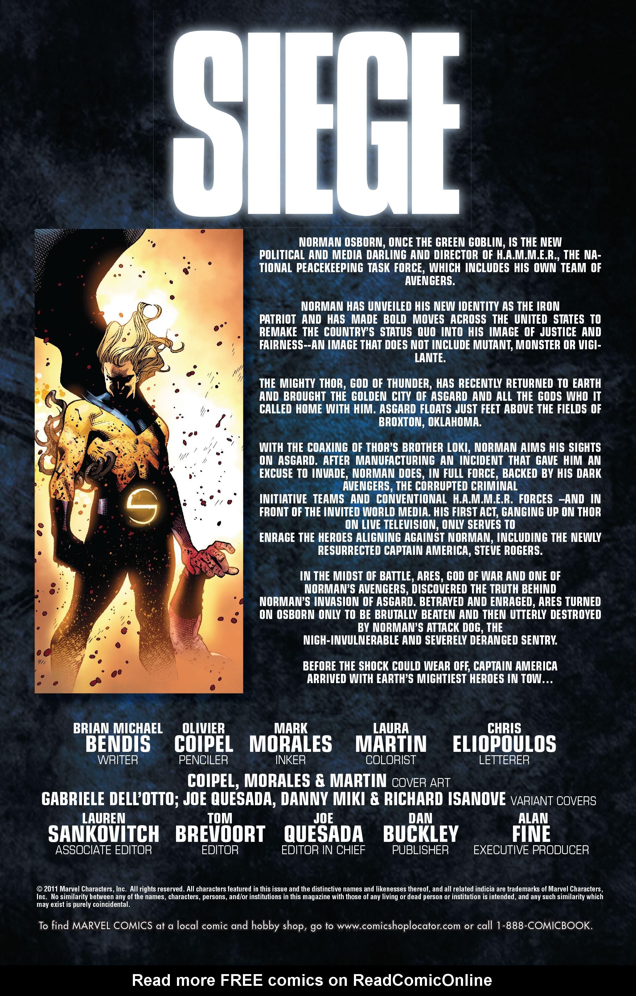 Read online Siege (2010) comic -  Issue #3 - 2