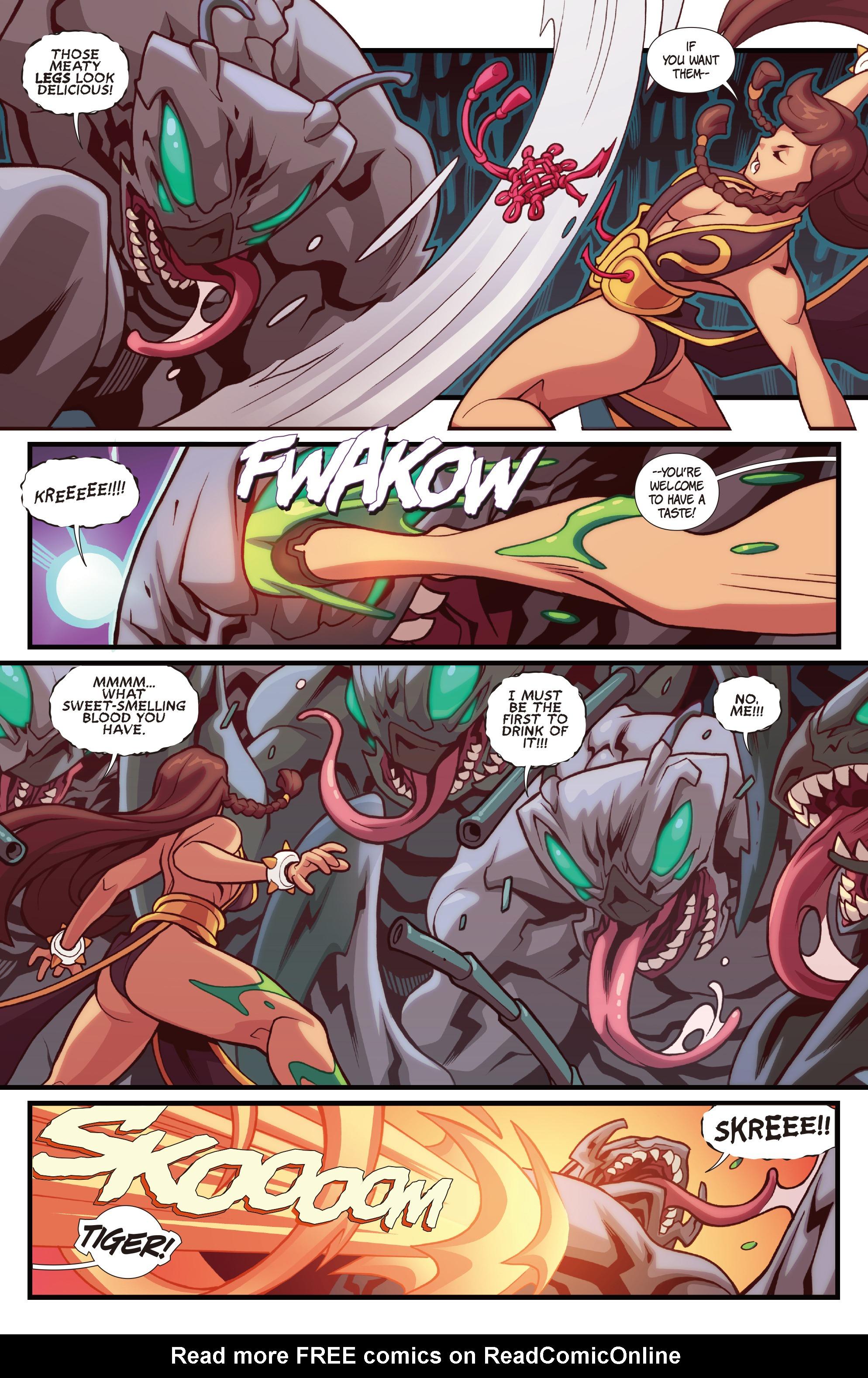Read online Street Fighter VS Darkstalkers comic -  Issue #1 - 7