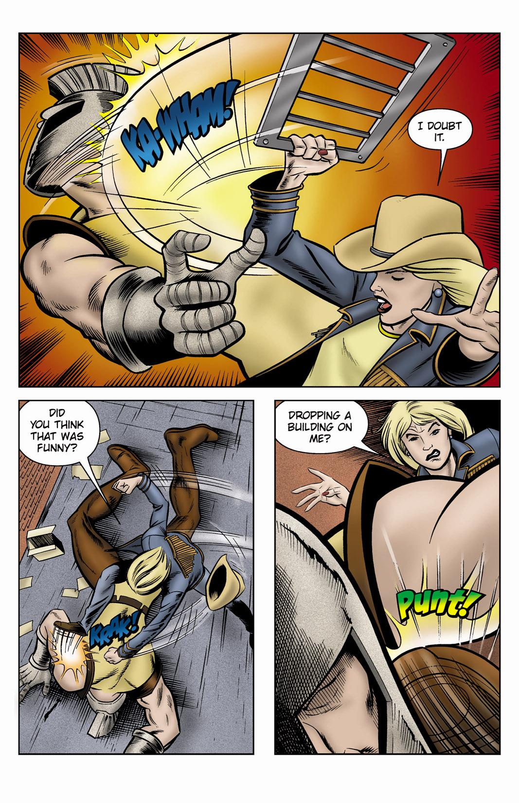 Read online SideChicks comic -  Issue #3 - 8