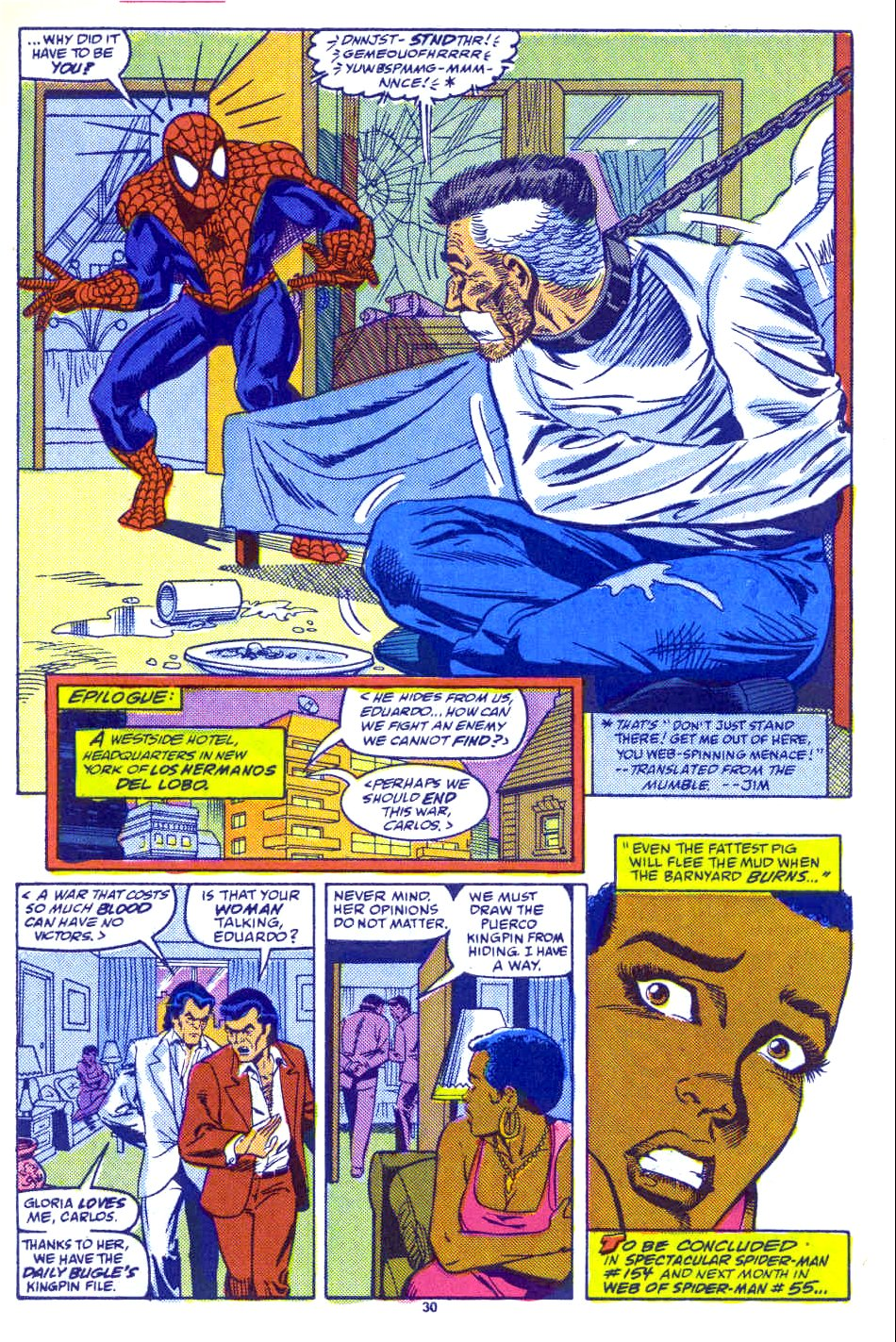 Web of Spider-Man (1985) Issue #54 #64 - English 23