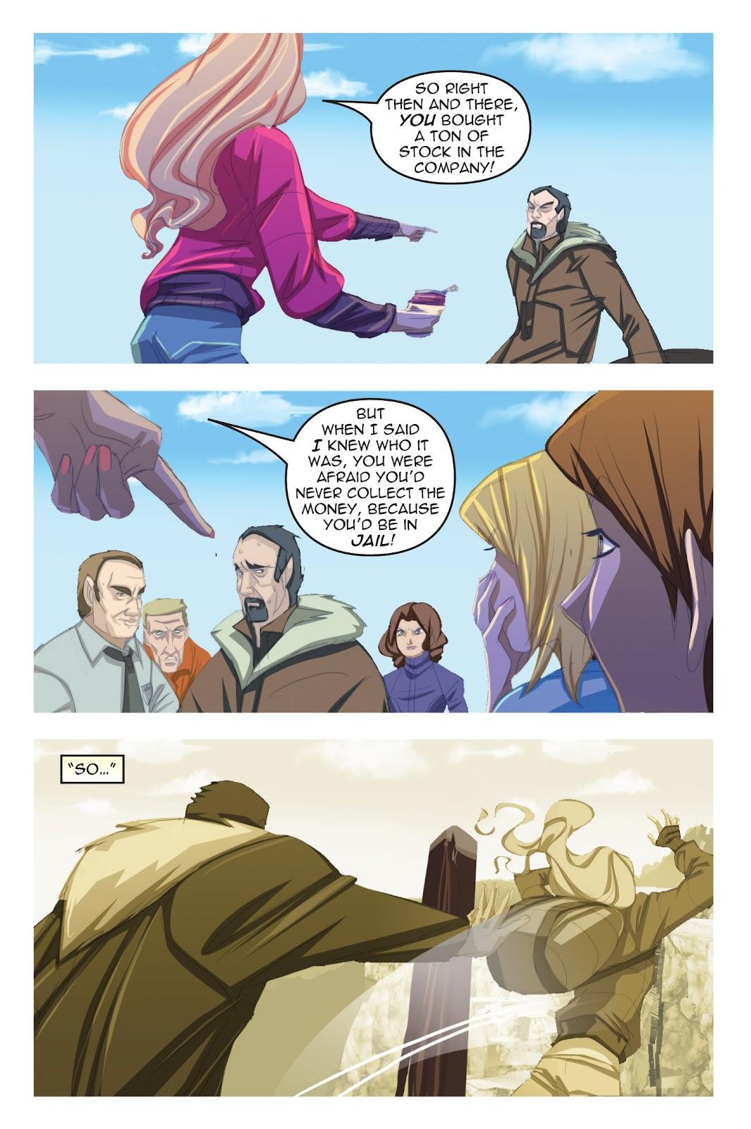 Read online Nancy Drew comic -  Issue #19 - 71