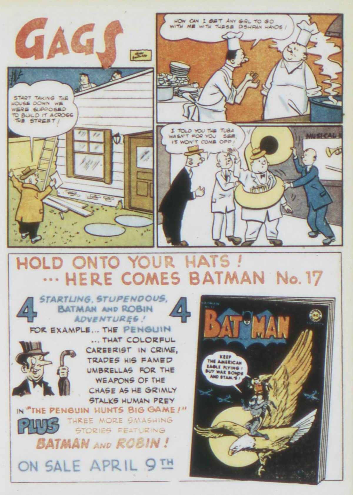 Read online Detective Comics (1937) comic -  Issue #75 - 15
