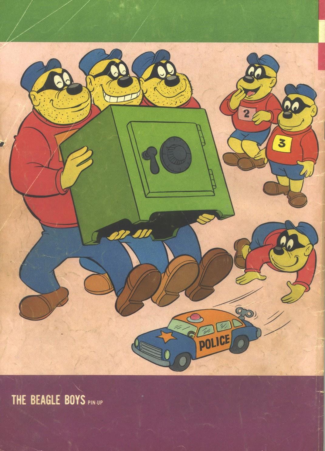 Walt Disney THE BEAGLE BOYS issue 7 - Page 36