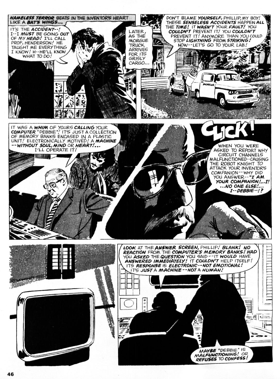 Nightmare (1970) issue 21 - Page 45