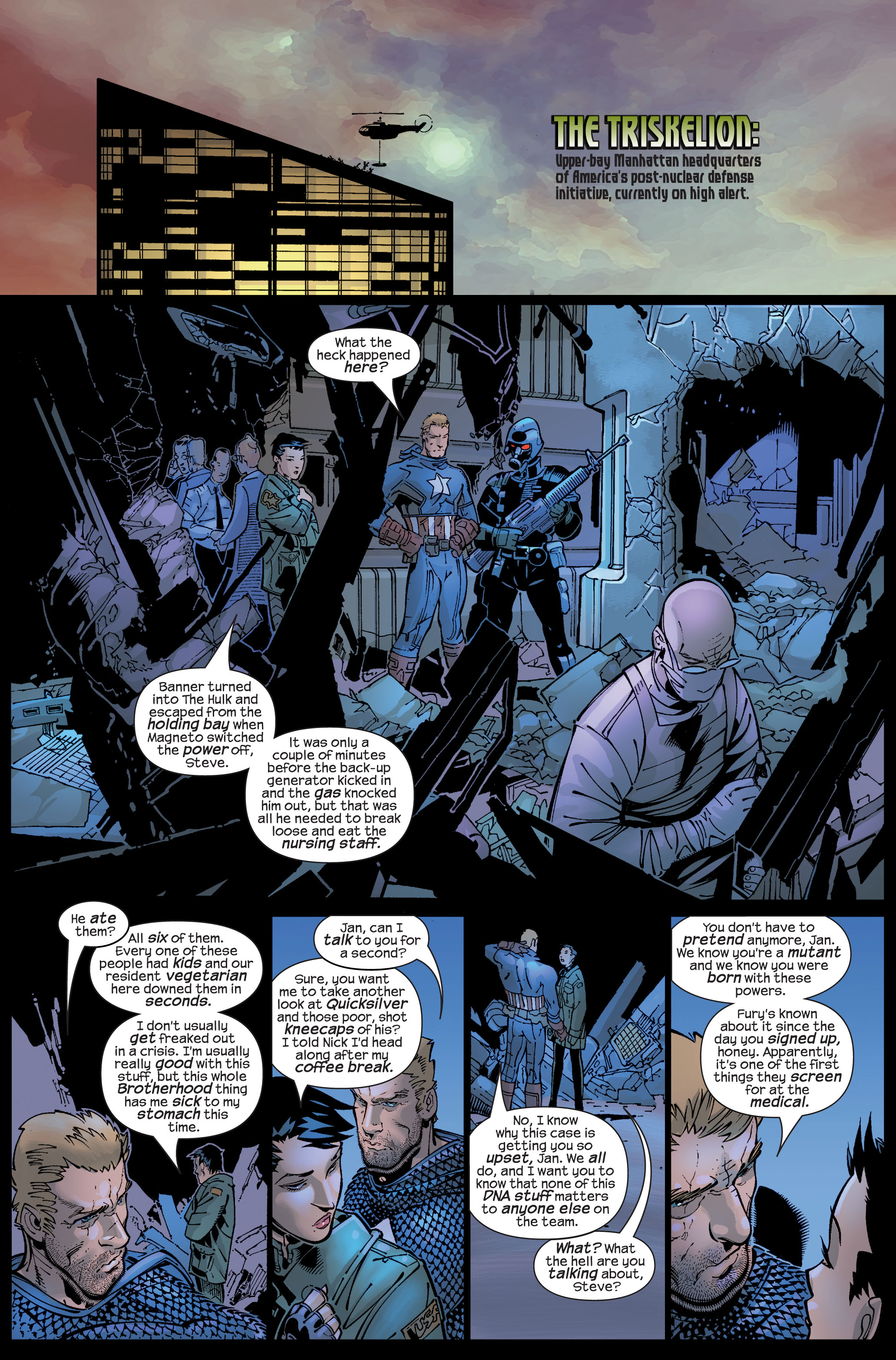 Read online Ultimate War comic -  Issue #3 - 9