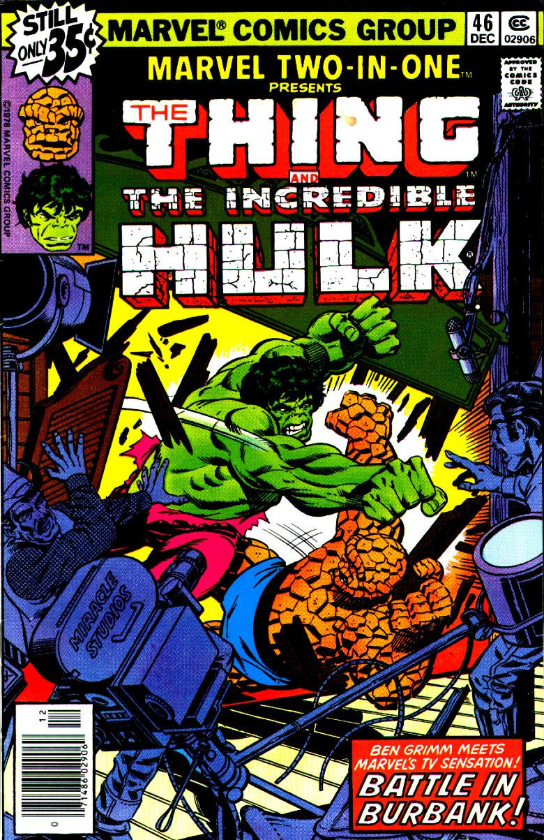 Marvel Two-In-One (1974) issue 46 - Page 1
