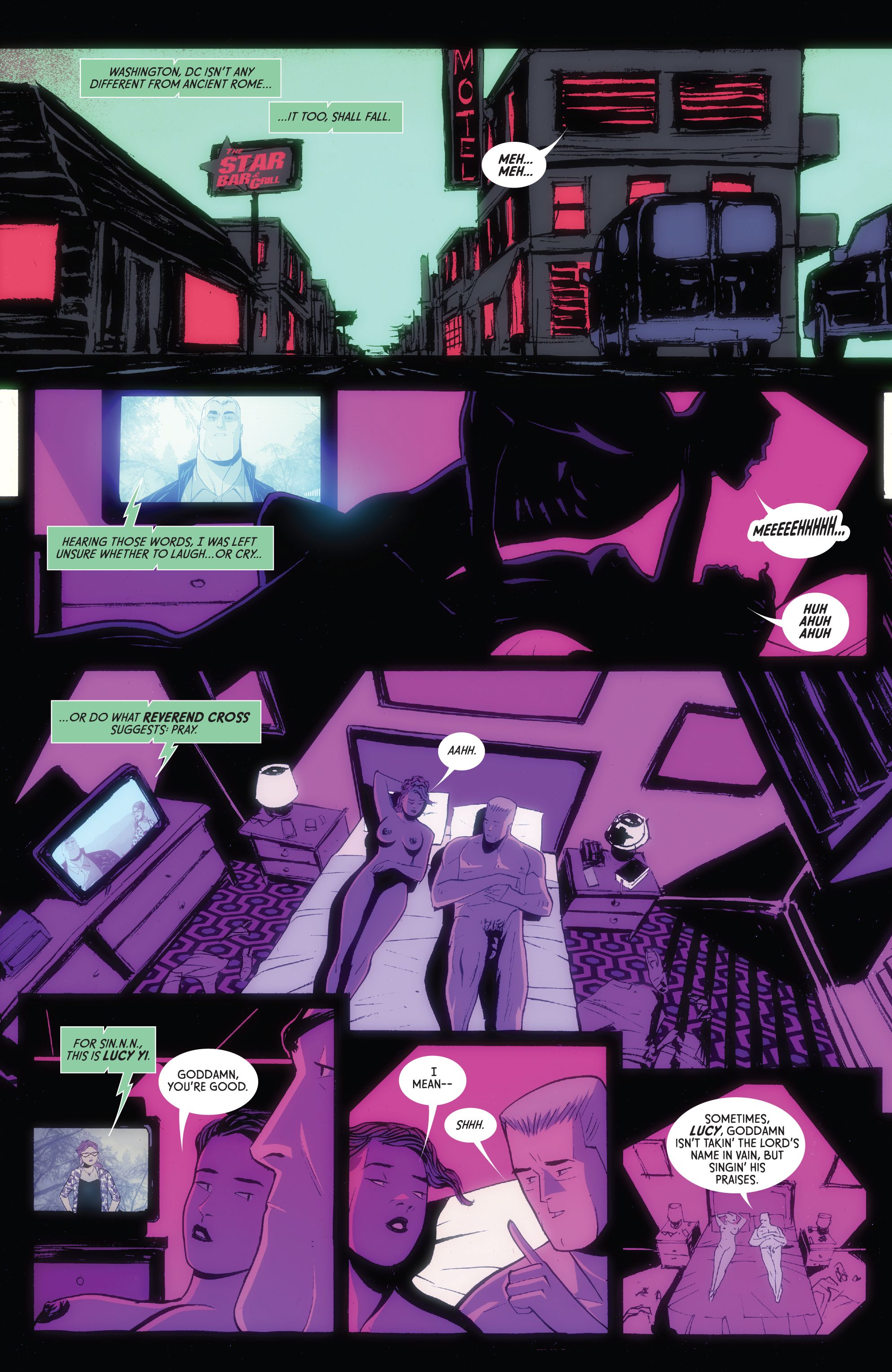 Read online American Monster comic -  Issue #6 - 10