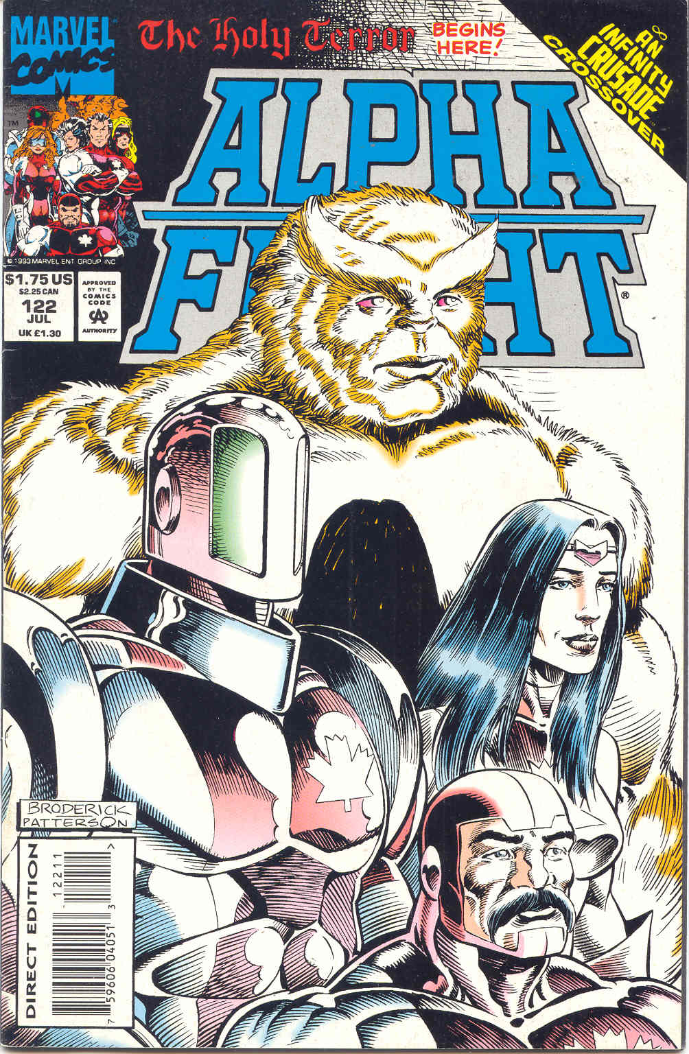Alpha Flight (1983) 122 Page 1