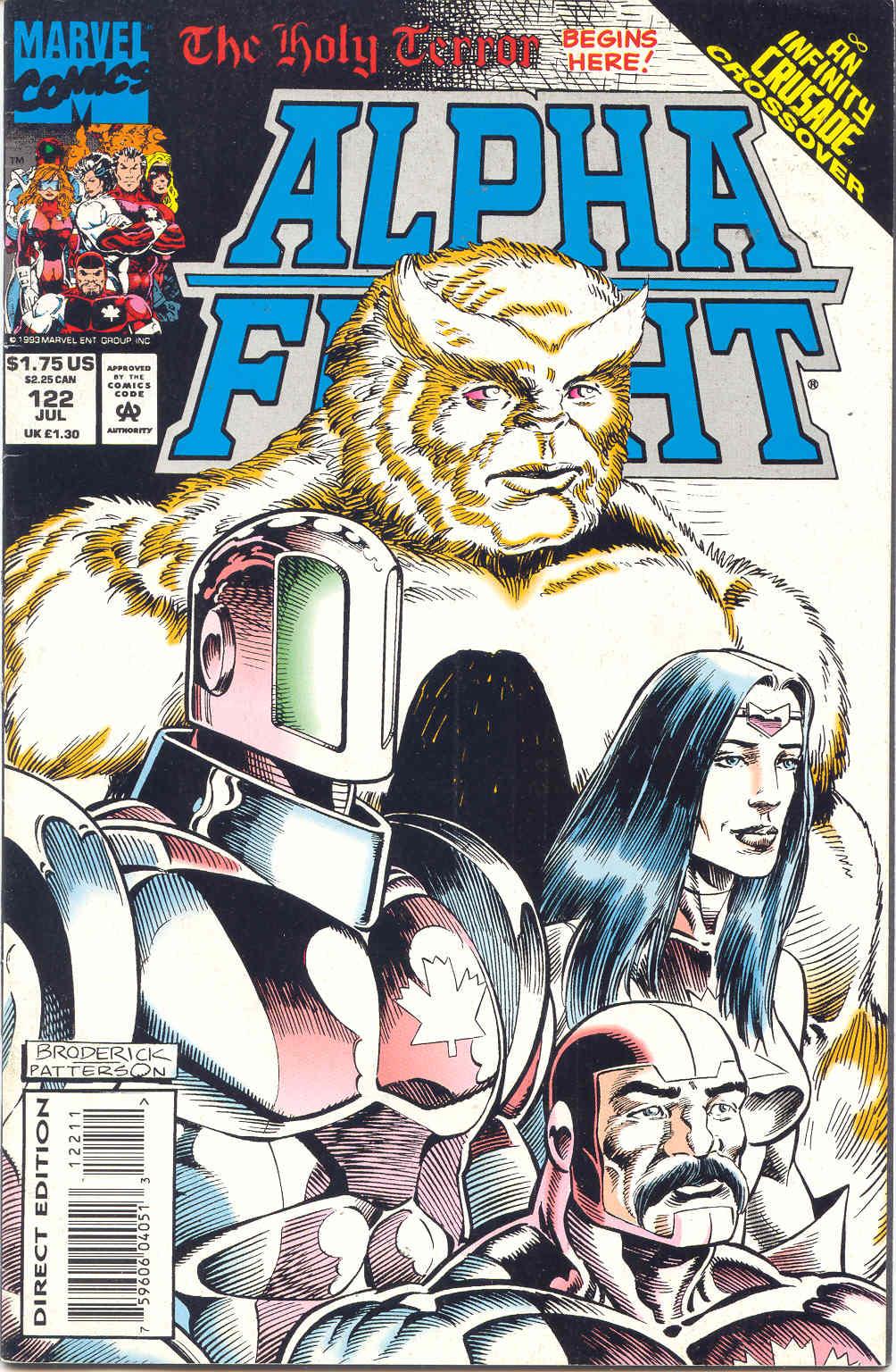 Alpha Flight (1983) 122 Page 1