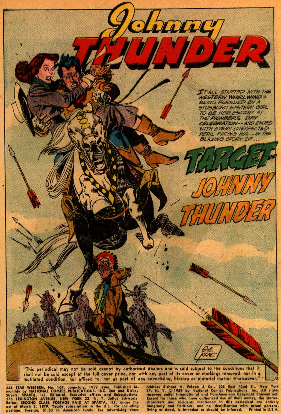 Read online All-Star Western (1951) comic -  Issue #107 - 3