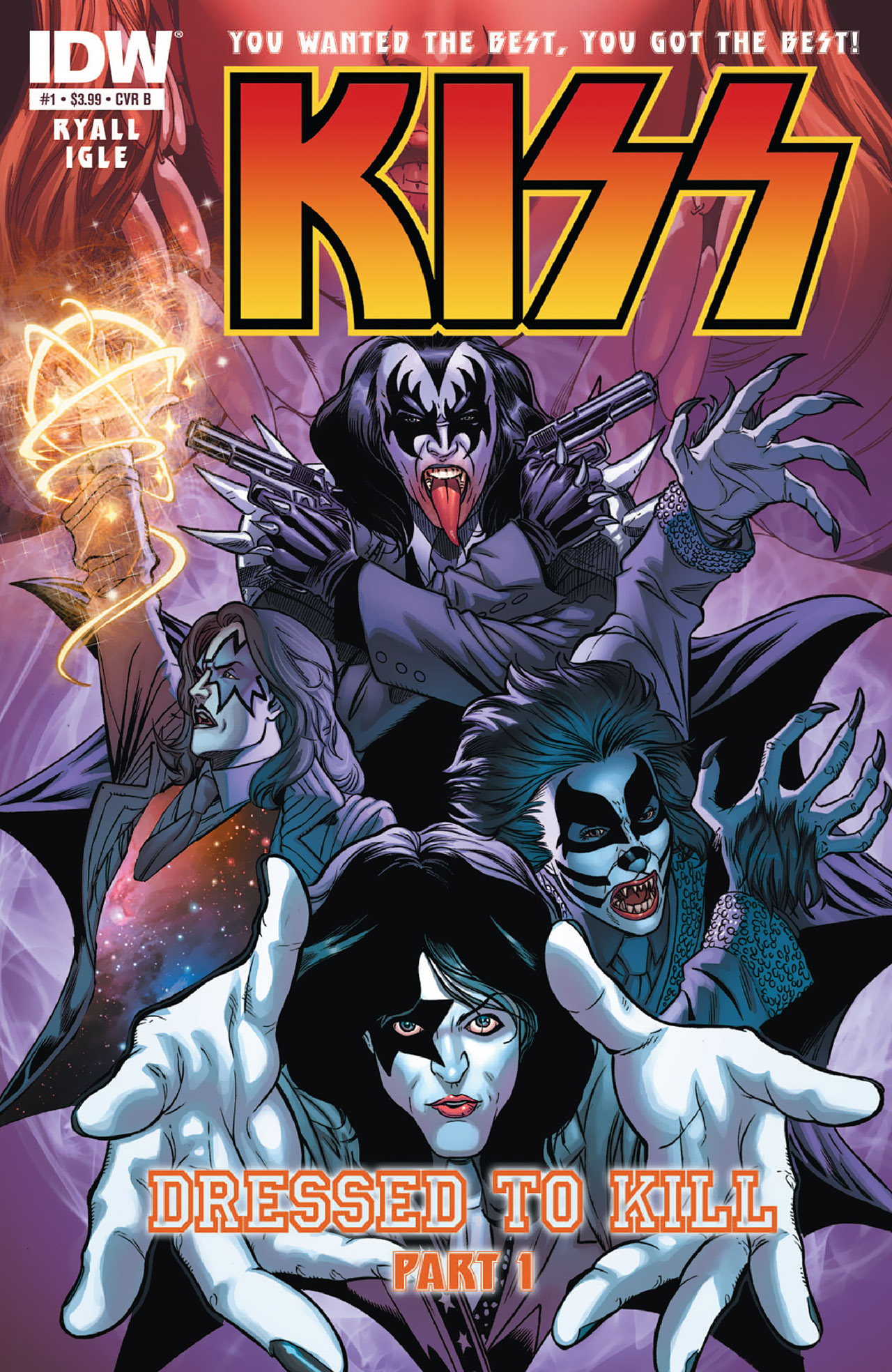 Read online KISS (2012) comic -  Issue #1 - 2