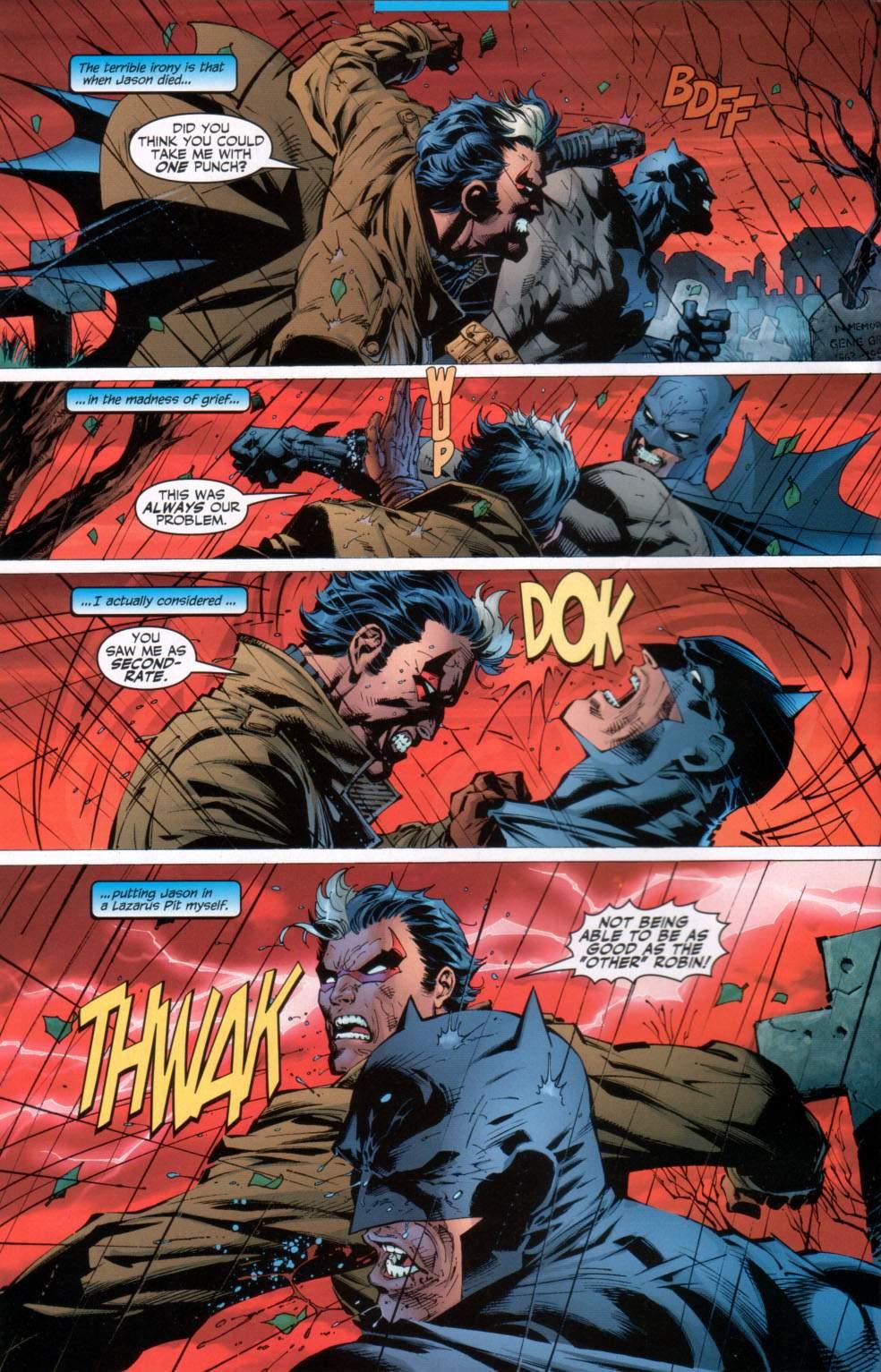 Read online Batman: Hush comic -  Issue #11 - 5