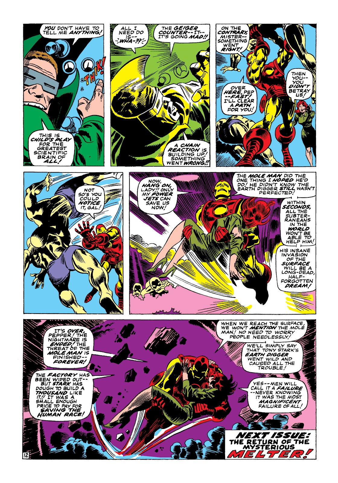 Read online Marvel Masterworks: The Invincible Iron Man comic -  Issue # TPB 4 (Part 1) - 70