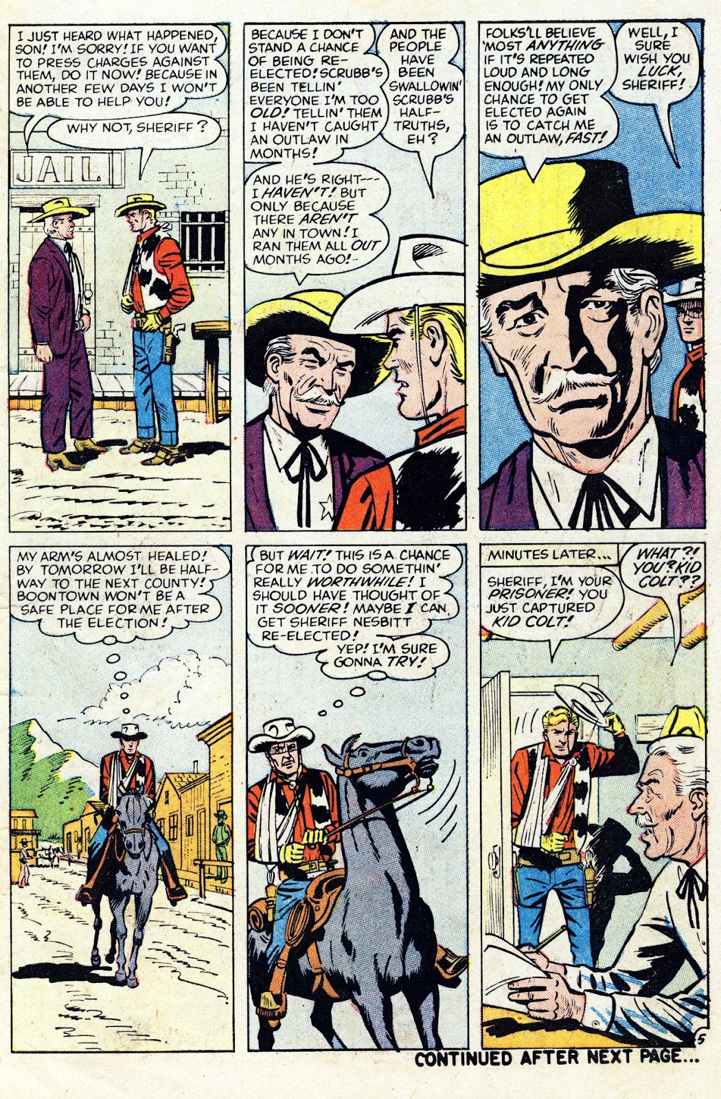 Gunsmoke Western issue 76 - Page 7