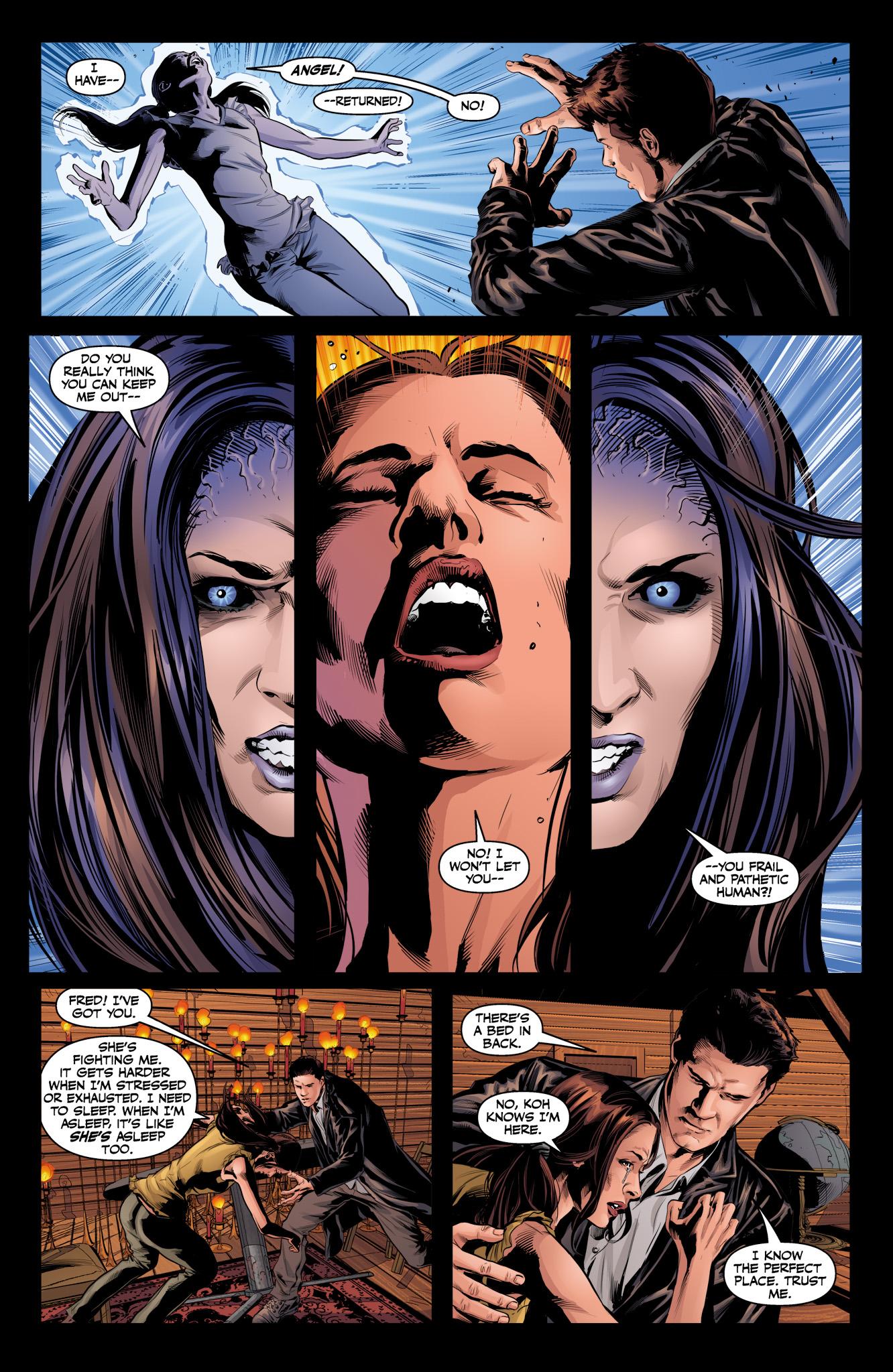 Read online Angel & Faith Season 10 comic -  Issue #12 - 19