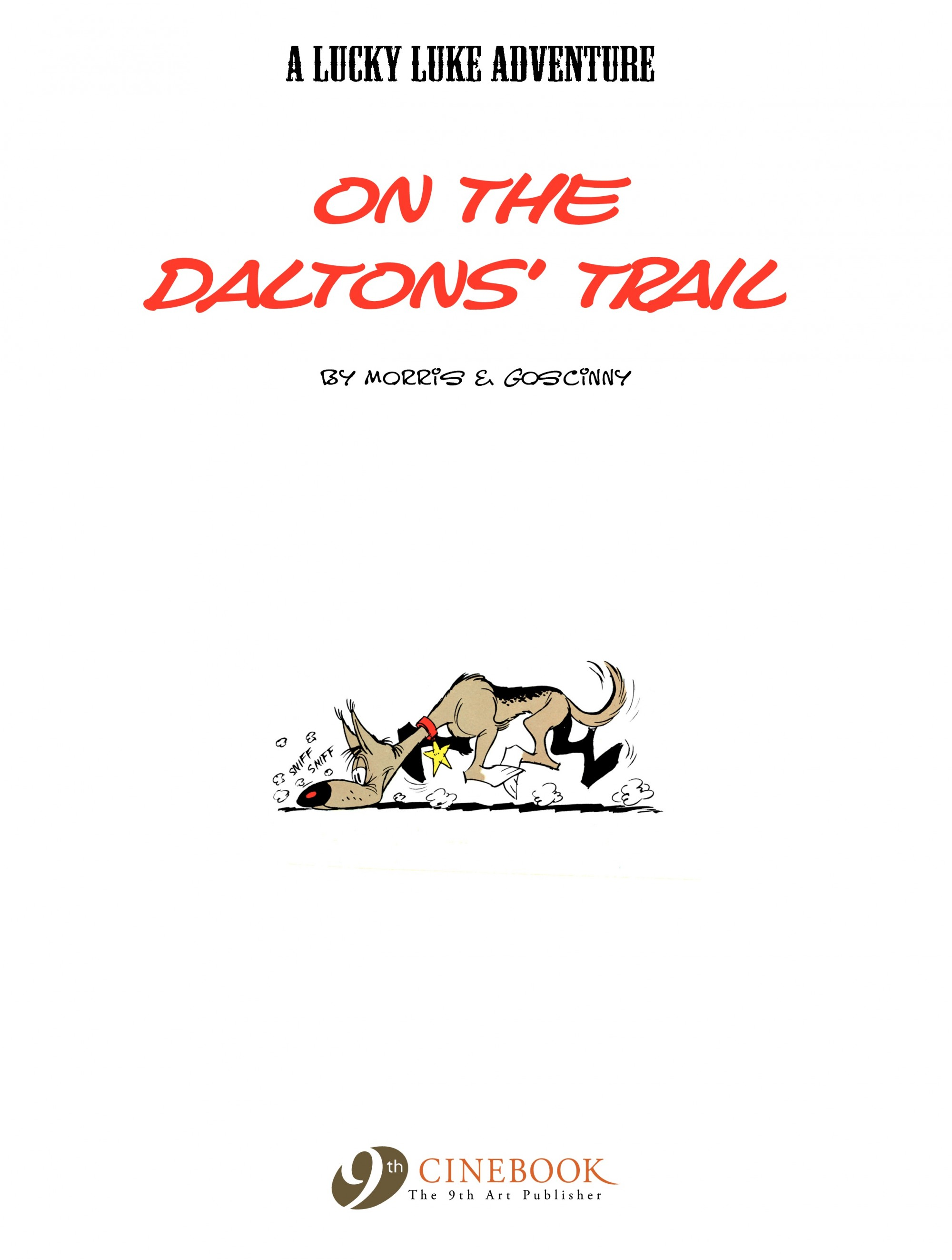 Read online A Lucky Luke Adventure comic -  Issue #19 - 2