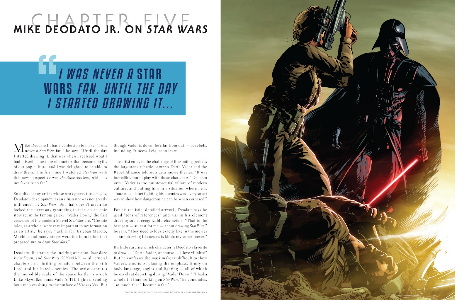 Read online The Marvel Art of Star Wars comic -  Issue # TPB (Part 1) - 83