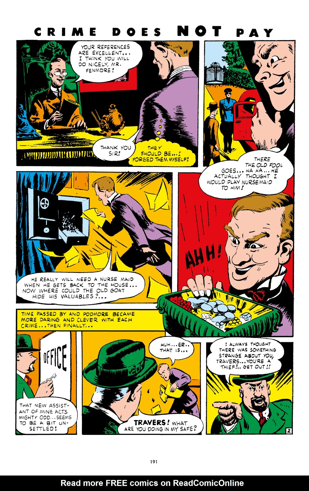 Read online Crime Does Not Pay Archives comic -  Issue # TPB 4 (Part 2) - 91