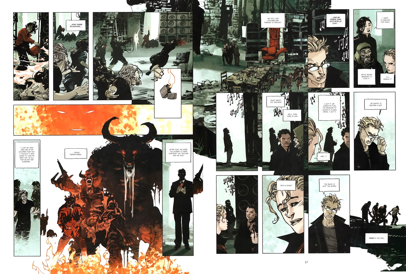 Read online Cutting Edge (2013) comic -  Issue #4 - 28