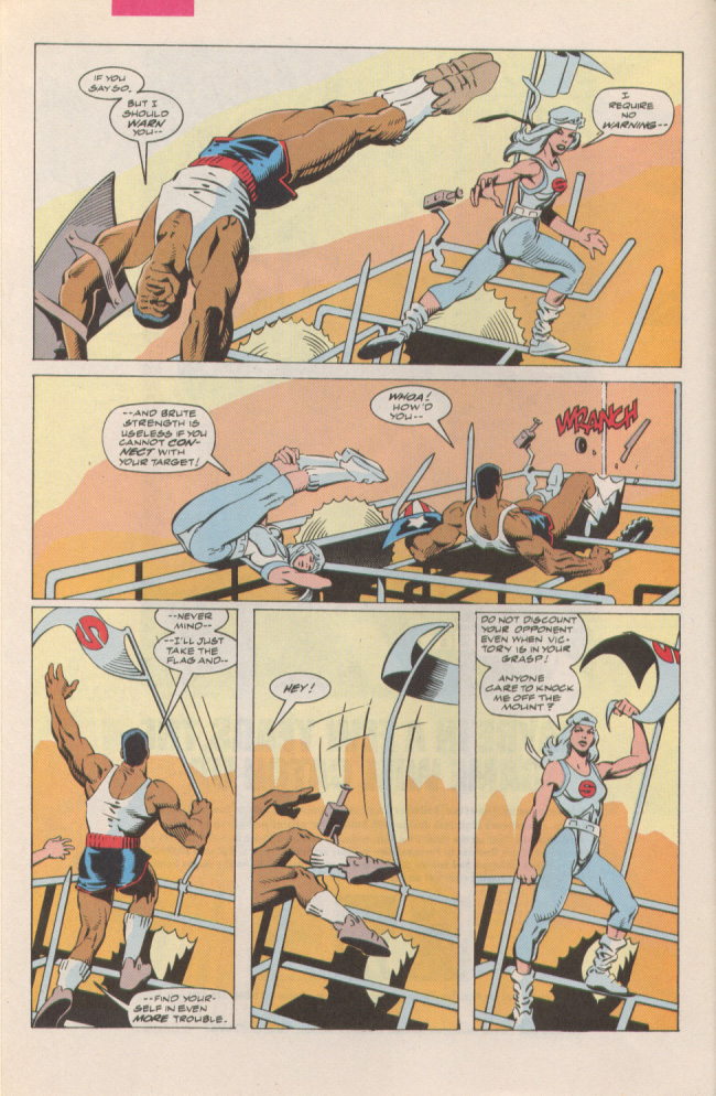 Read online Silver Sable and the Wild Pack comic -  Issue #6 - 6