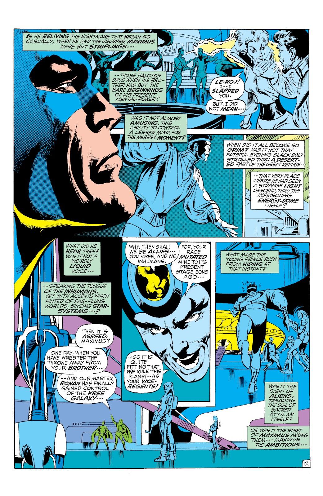 Read online Marvel Masterworks: The Inhumans comic -  Issue # TPB 1 (Part 3) - 7