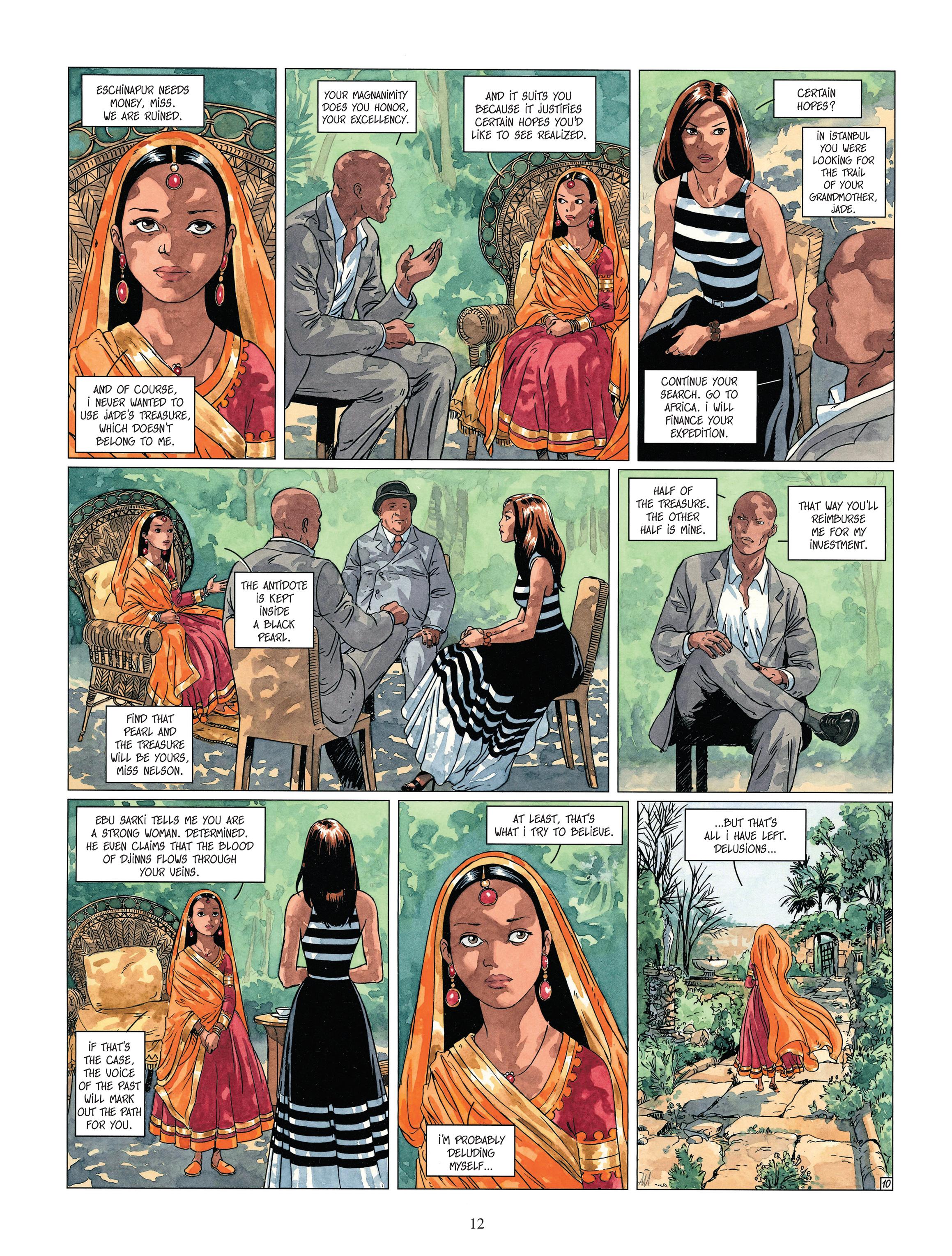 Read online Djinn comic -  Issue #13 - 13