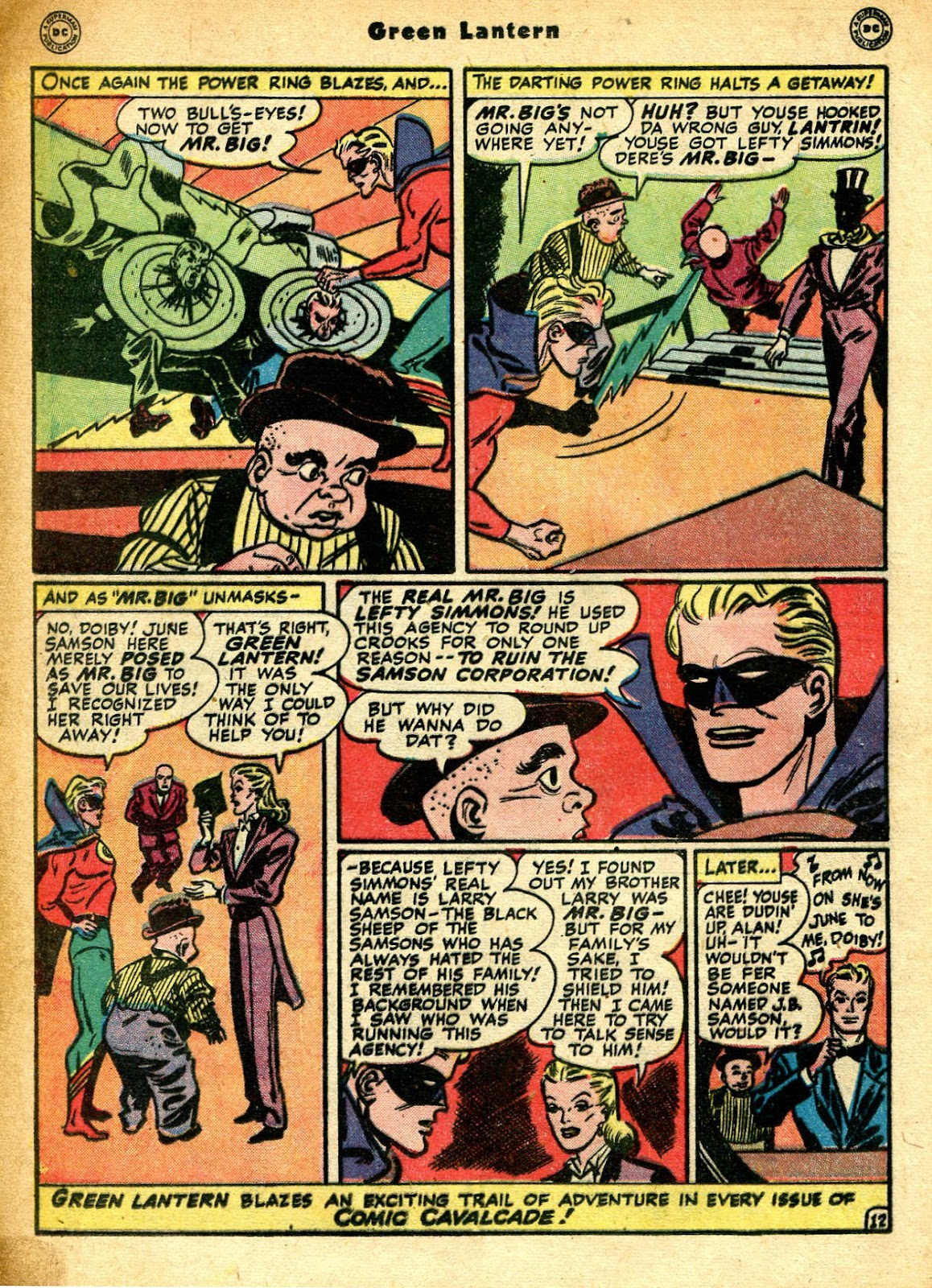 Green Lantern (1941) Issue #33 #33 - English 29