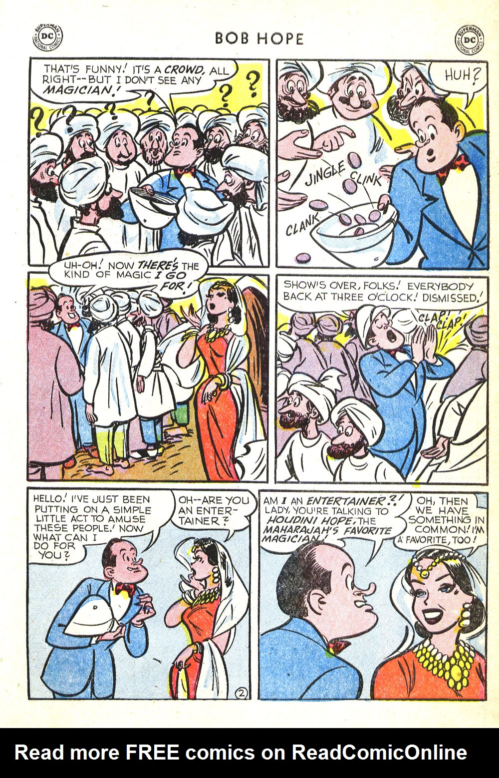 The Adventures of Bob Hope issue 30 - Page 27