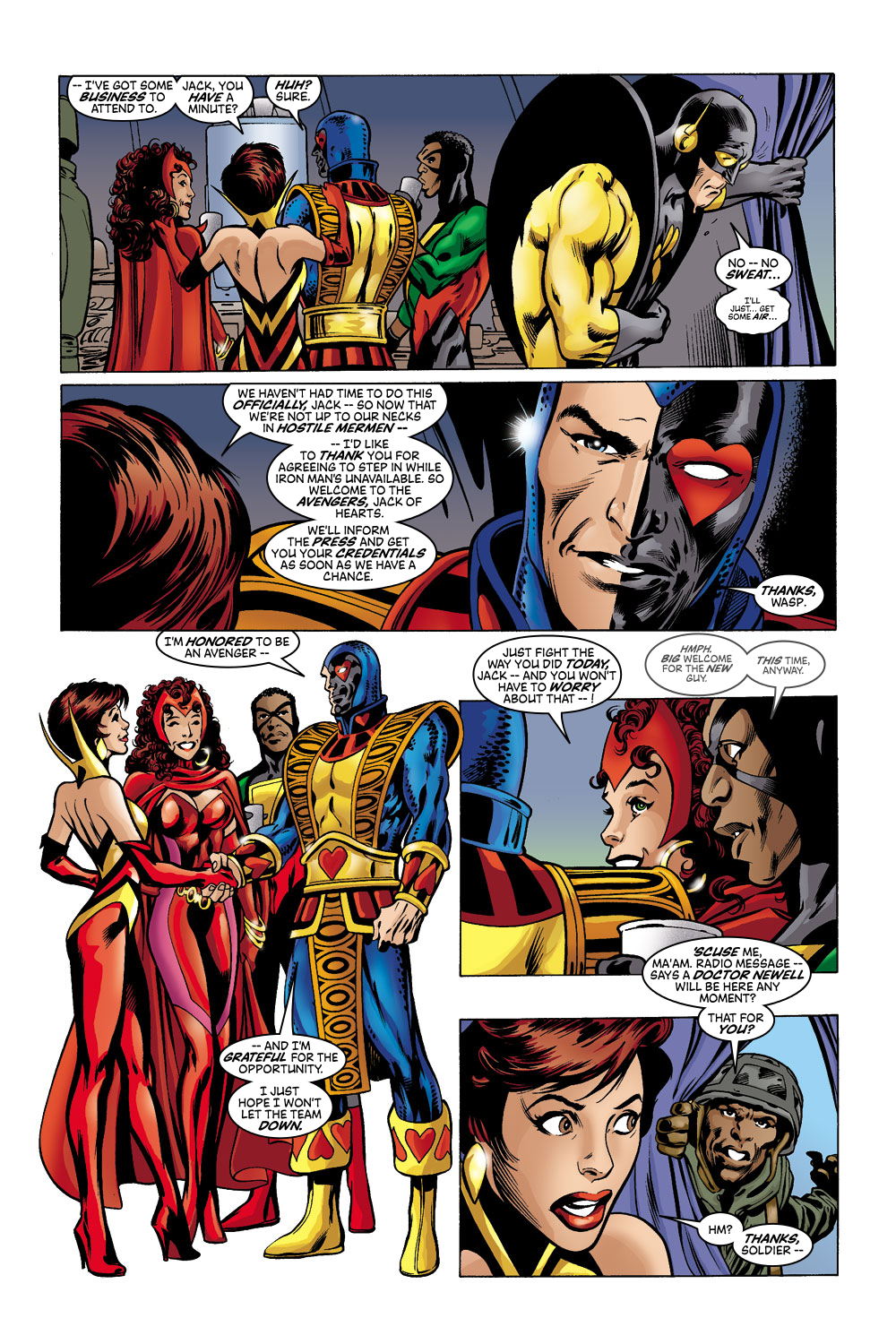 Read online Avengers (1998) comic -  Issue #43 - 16