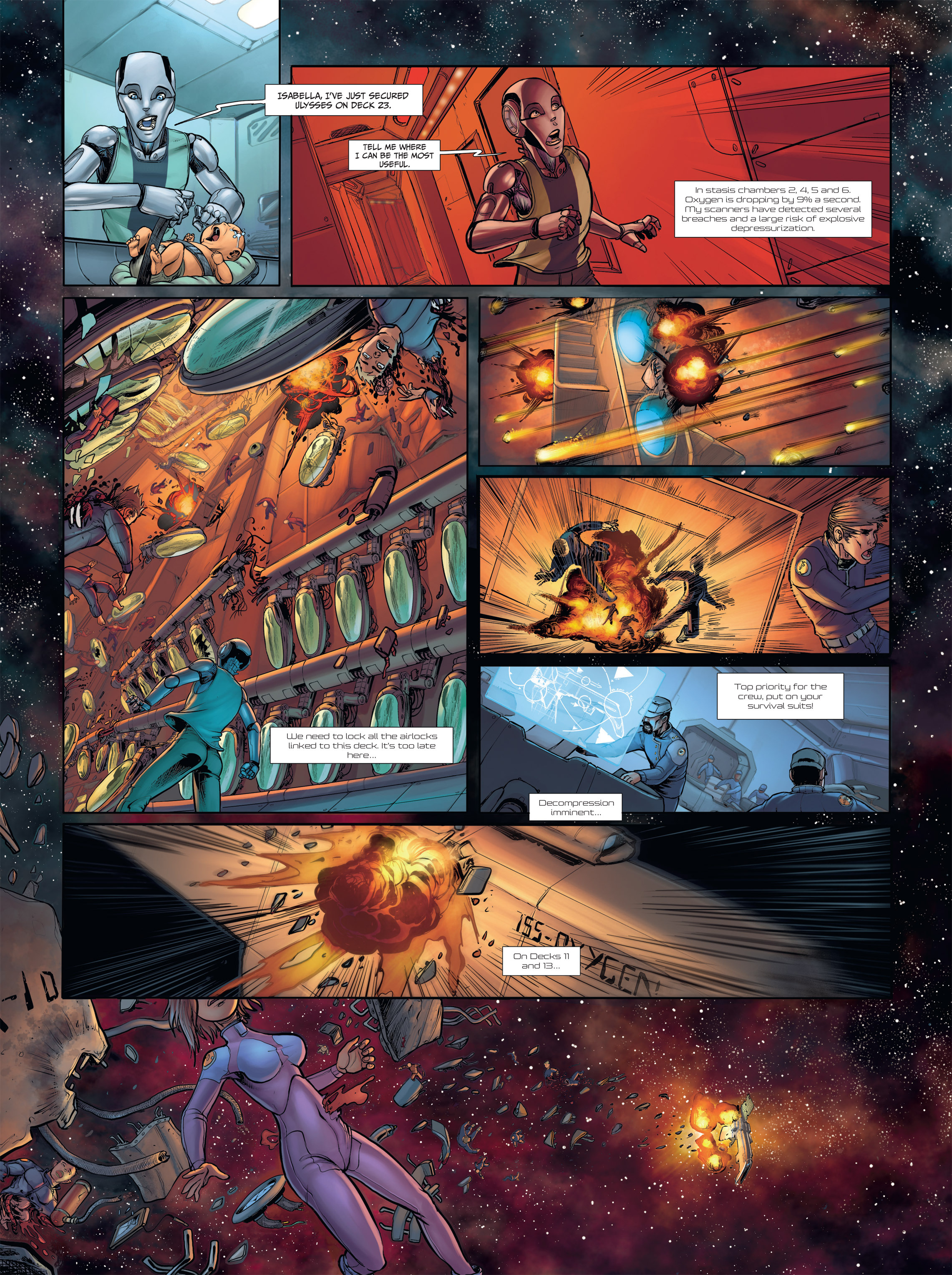 Read online Androïds comic -  Issue #2 - 8