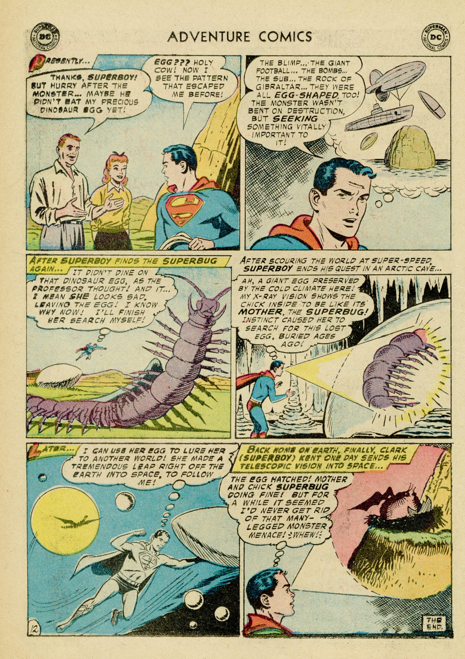 Read online Adventure Comics (1938) comic -  Issue #245 - 14