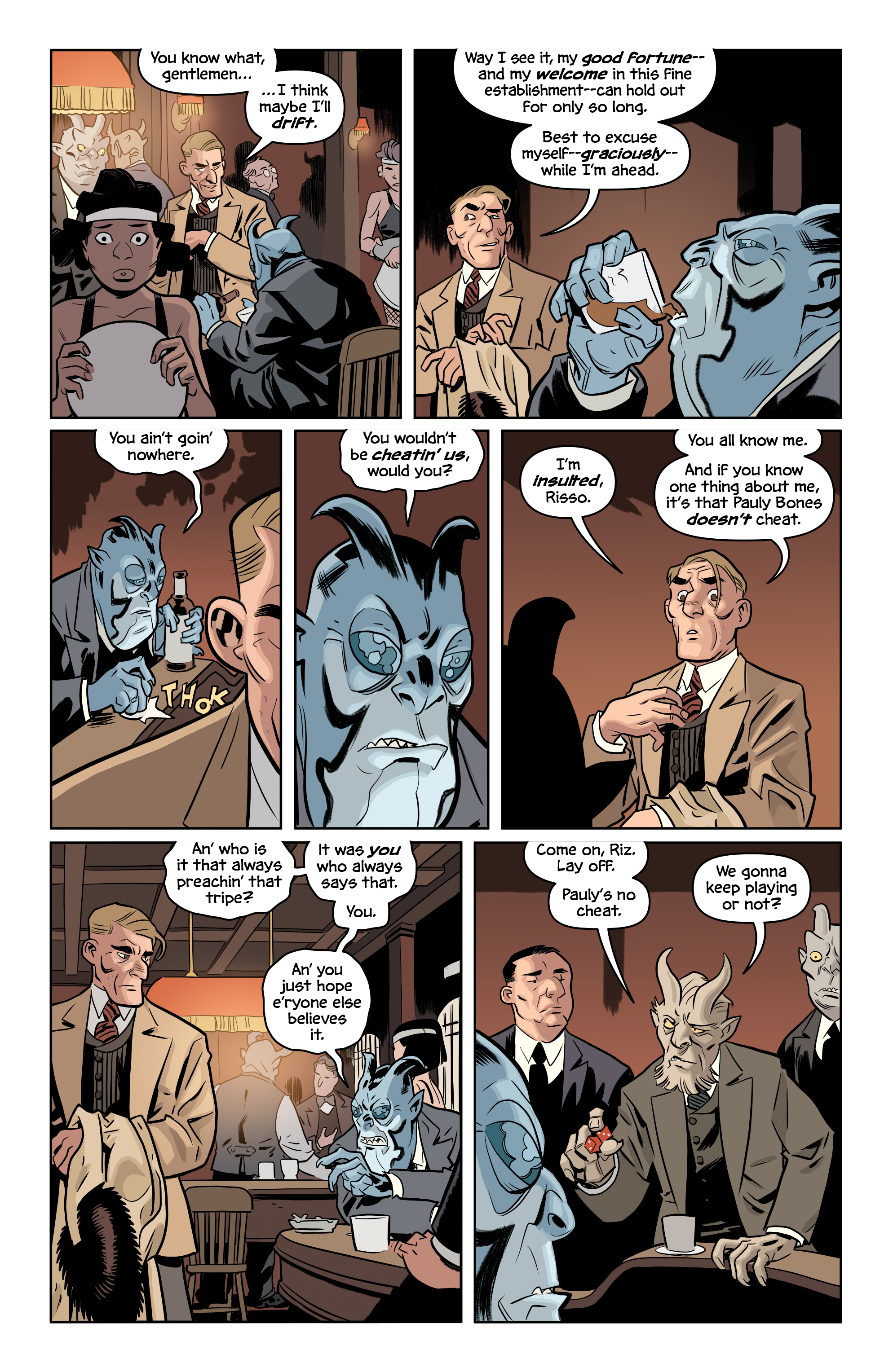 Read online The Damned comic -  Issue #2 - 4