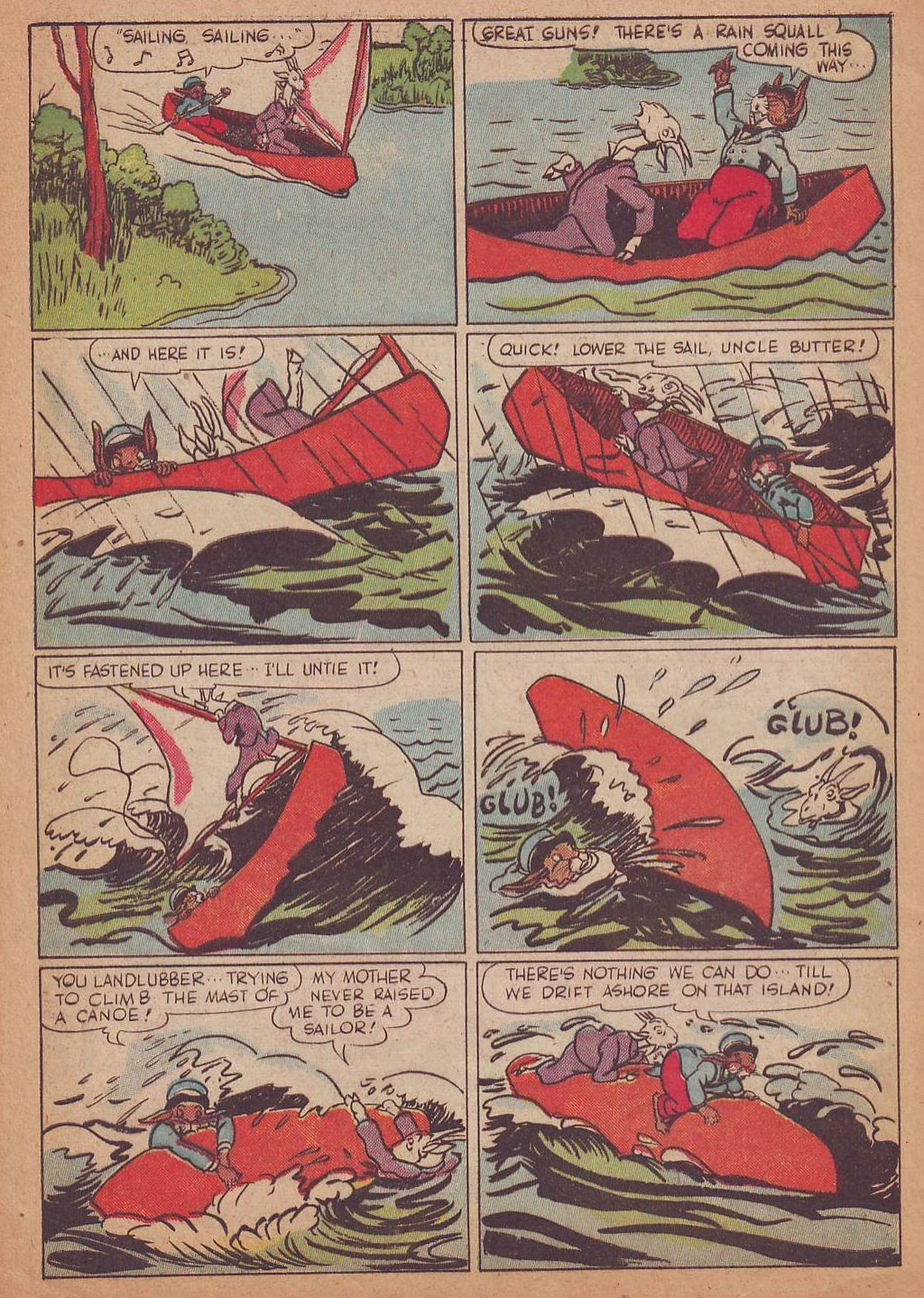 Read online Animal Comics comic -  Issue #16 - 4
