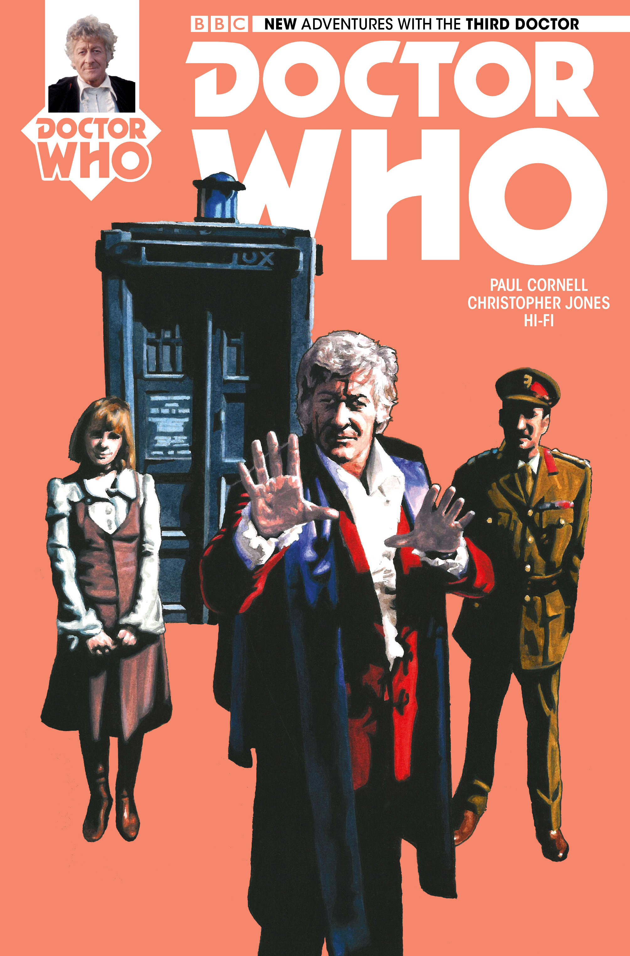 Doctor Who: The Third Doctor 5 Page 1