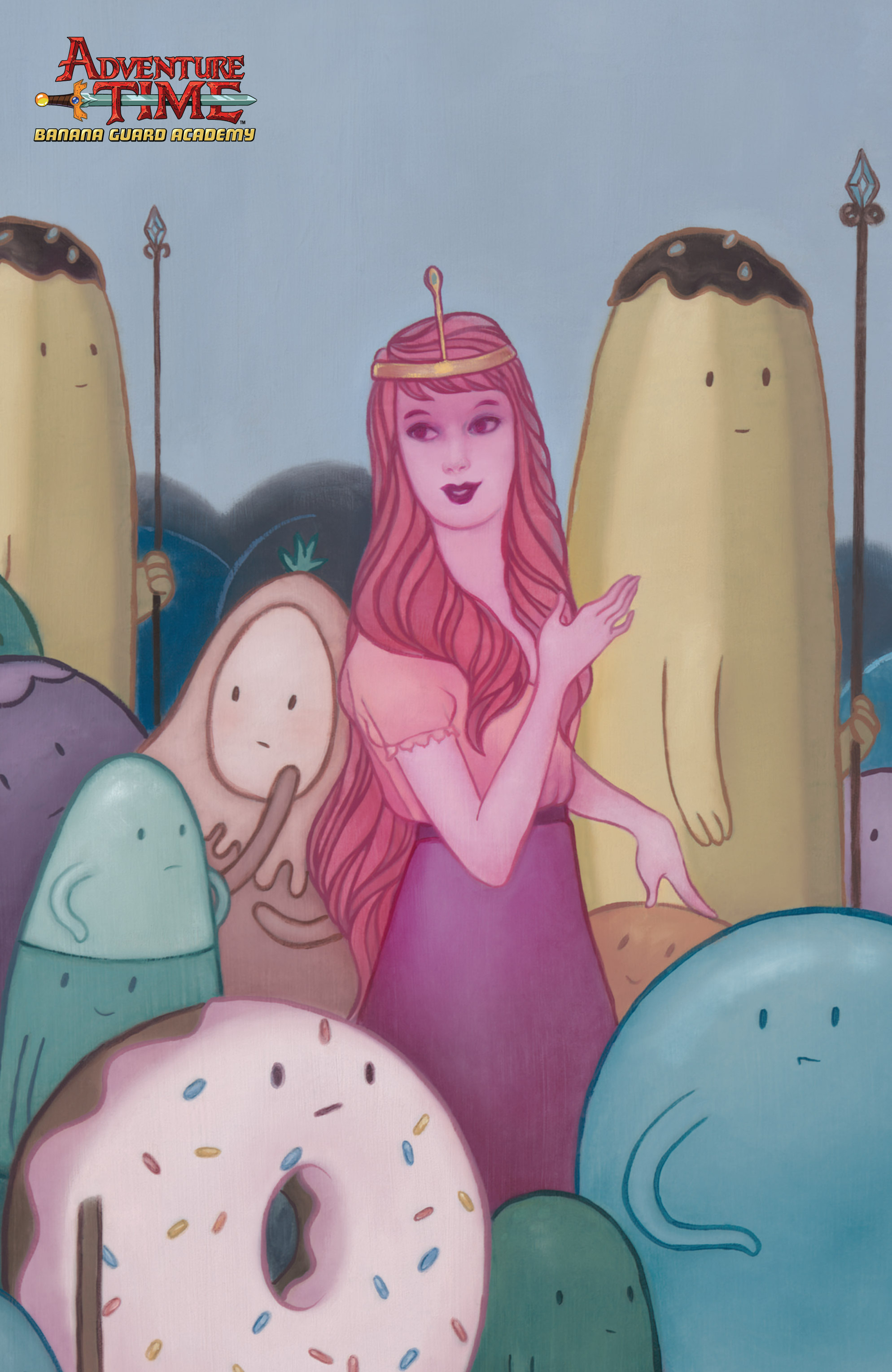 Read online Adventure Time: Banana Guard Academ comic -  Issue #3 - 3