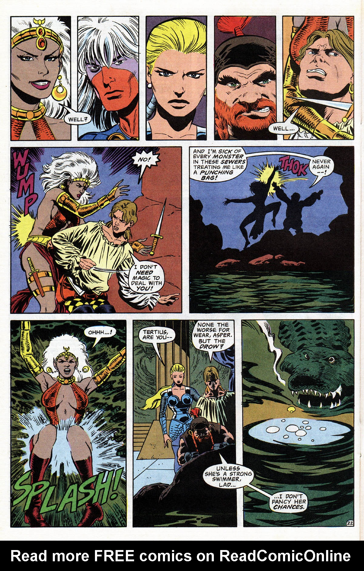 Read online Advanced Dungeons & Dragons comic -  Issue #12 - 27