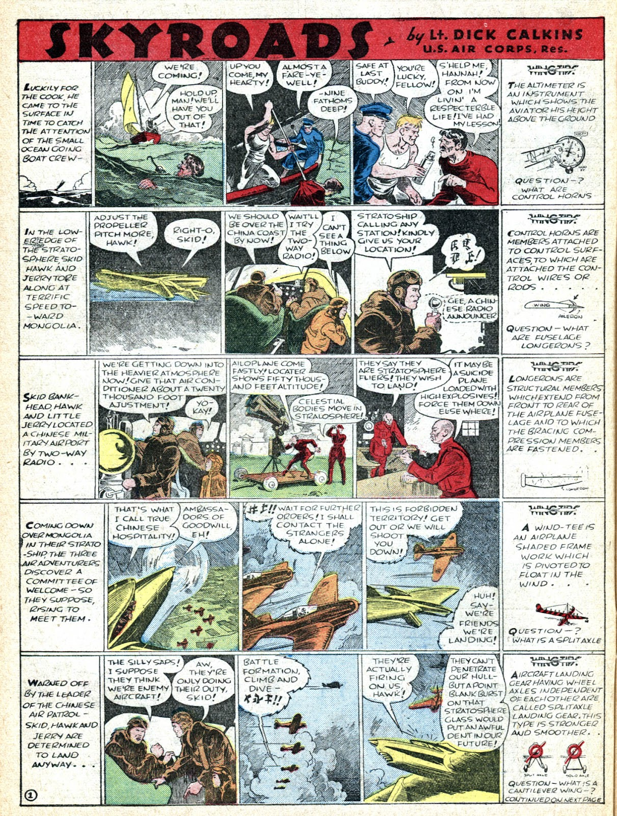Read online Famous Funnies comic -  Issue #36 - 12