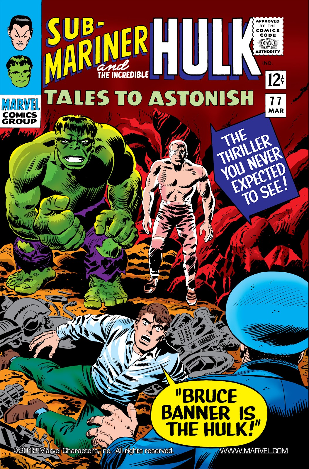 Read online Marvel Masterworks: The Incredible Hulk comic -  Issue # TPB 2 (Part 3) - 11