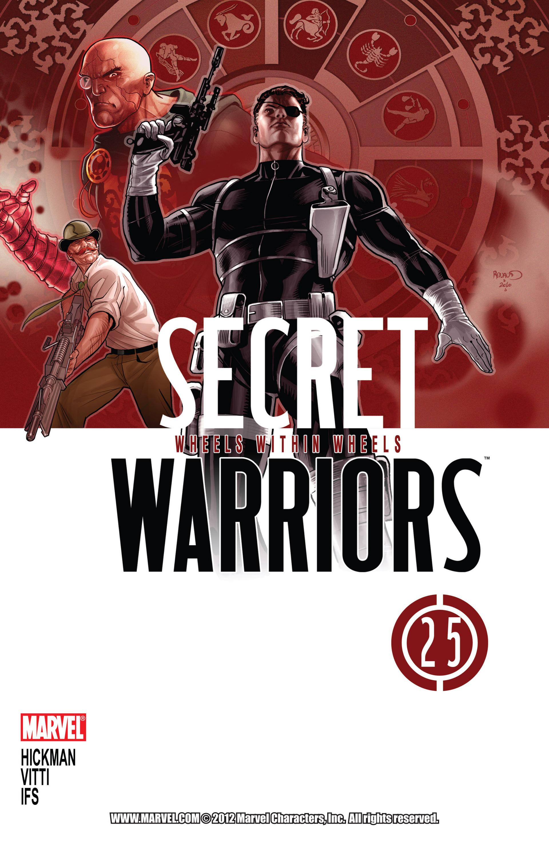 Read online Secret Warriors comic -  Issue #25 - 2