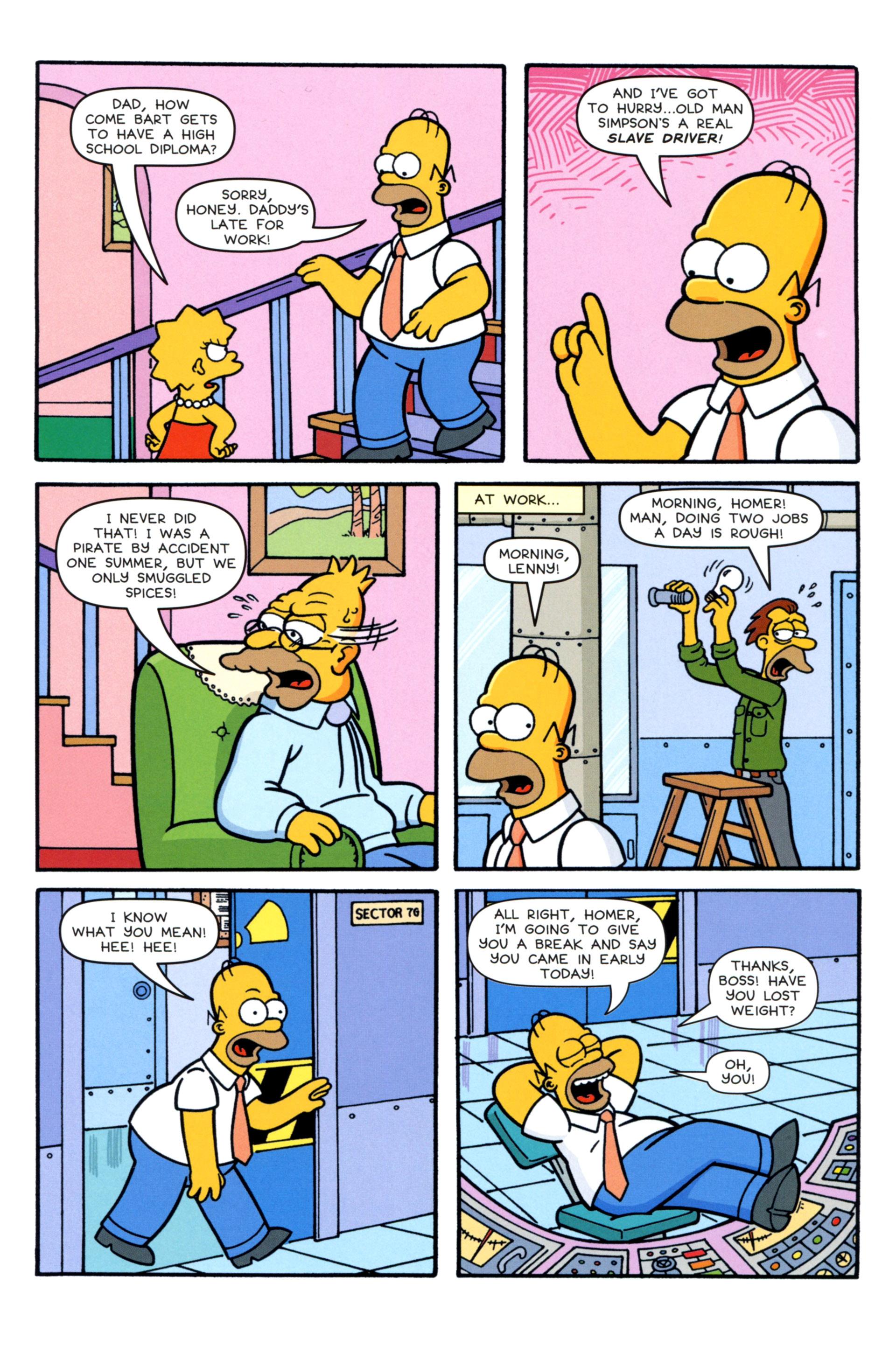 Read online Simpsons Comics comic -  Issue #202 - 8