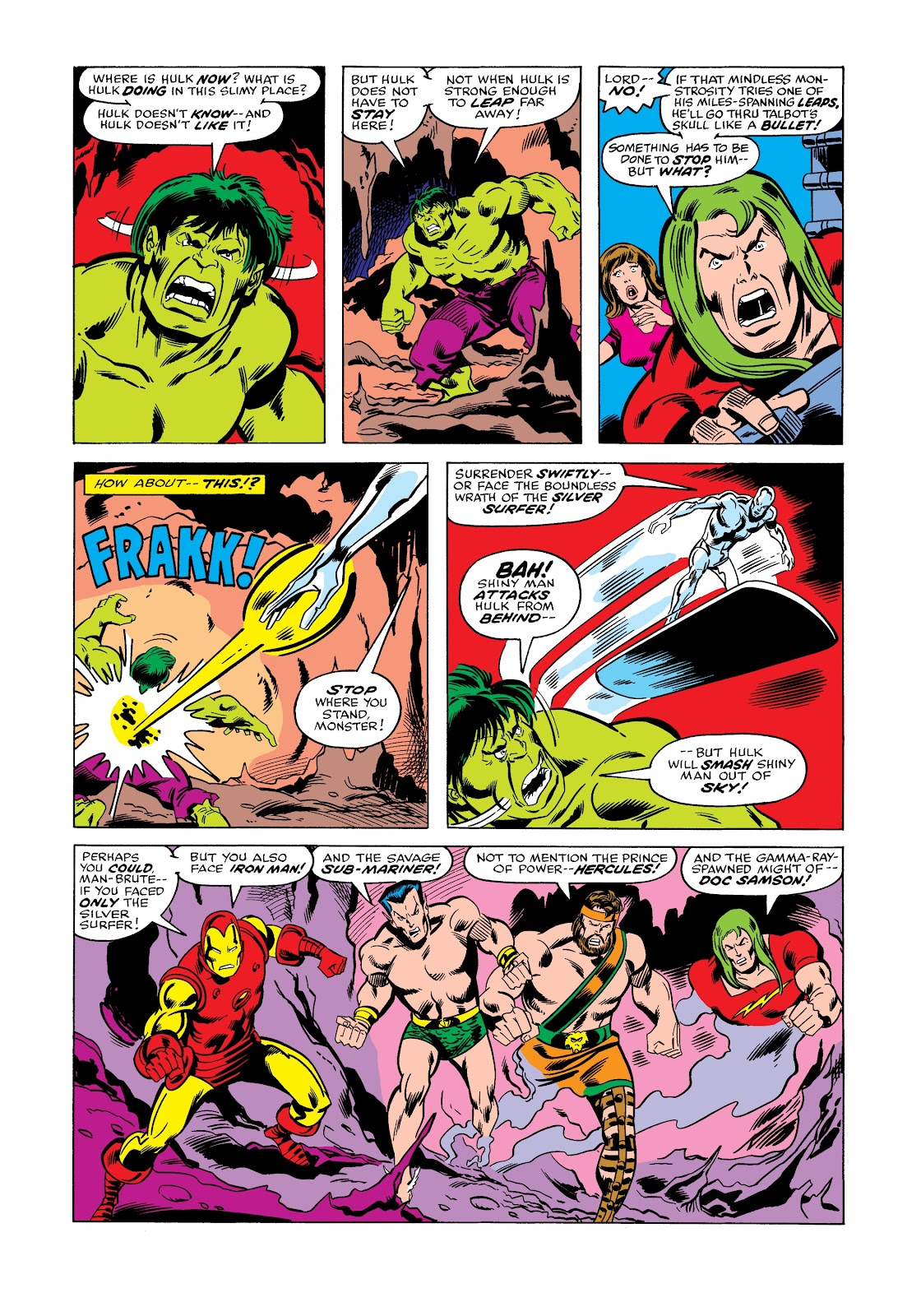 Read online Marvel Masterworks: The Incredible Hulk comic -  Issue # TPB 12 (Part 2) - 11