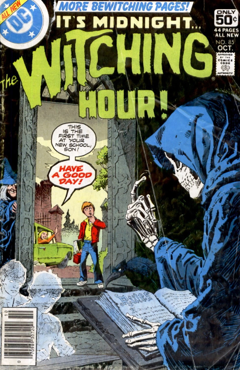 The Witching Hour (1969) issue 85 - Page 1