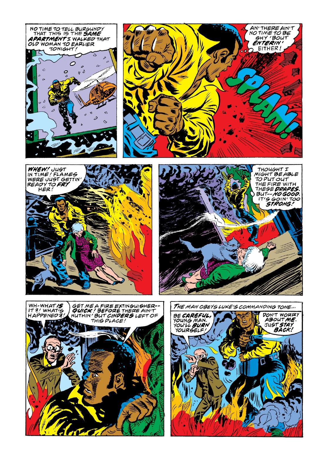 Read online Marvel Masterworks: Luke Cage, Power Man comic -  Issue # TPB 3 (Part 3) - 96